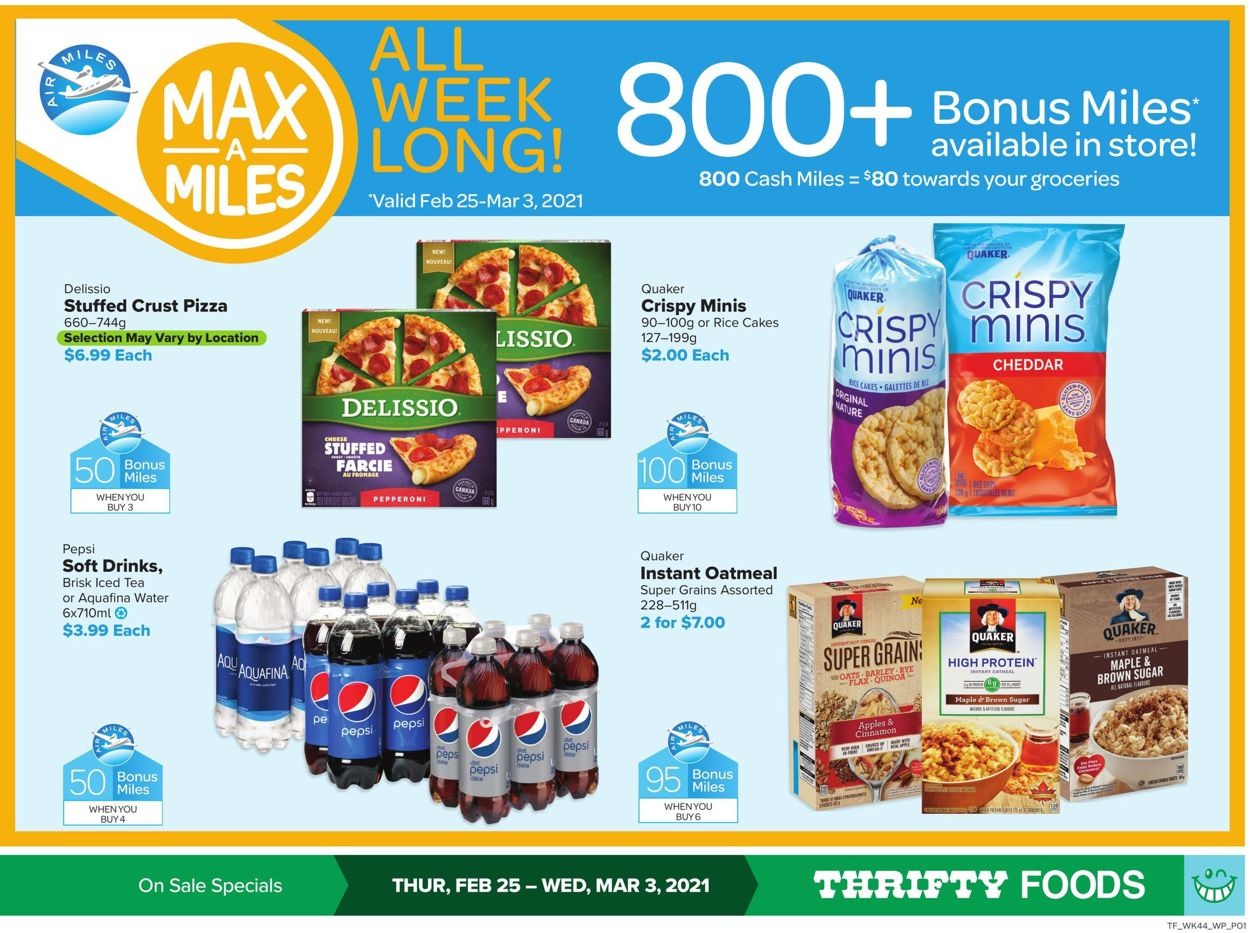 Thrifty Foods Flyer - 02/25-03/03/2021