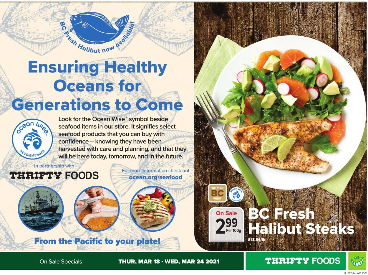Thrifty Foods Flyer - 03/18-03/24/2021