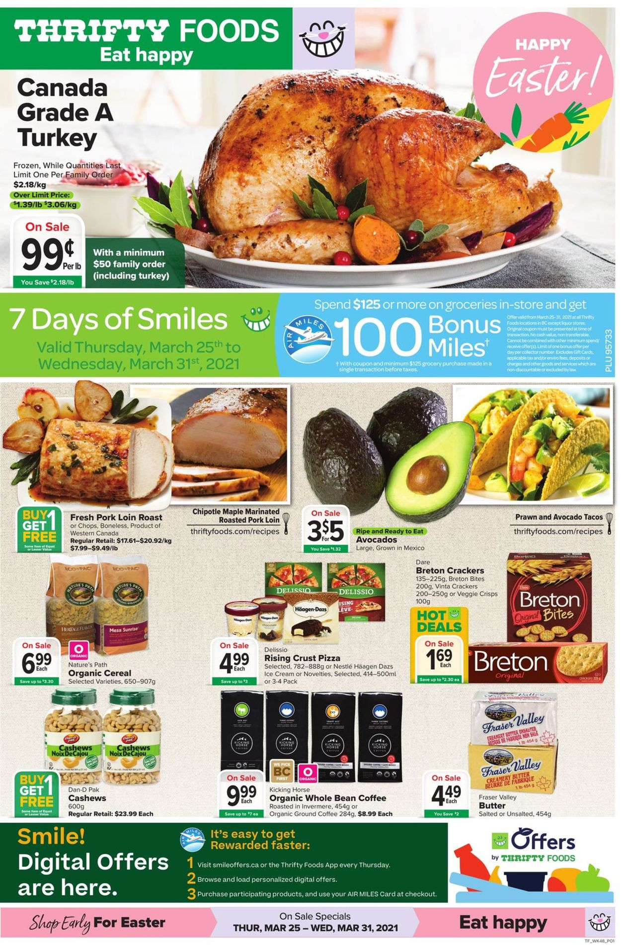 Thrifty Foods Flyer - 03/25-03/31/2021