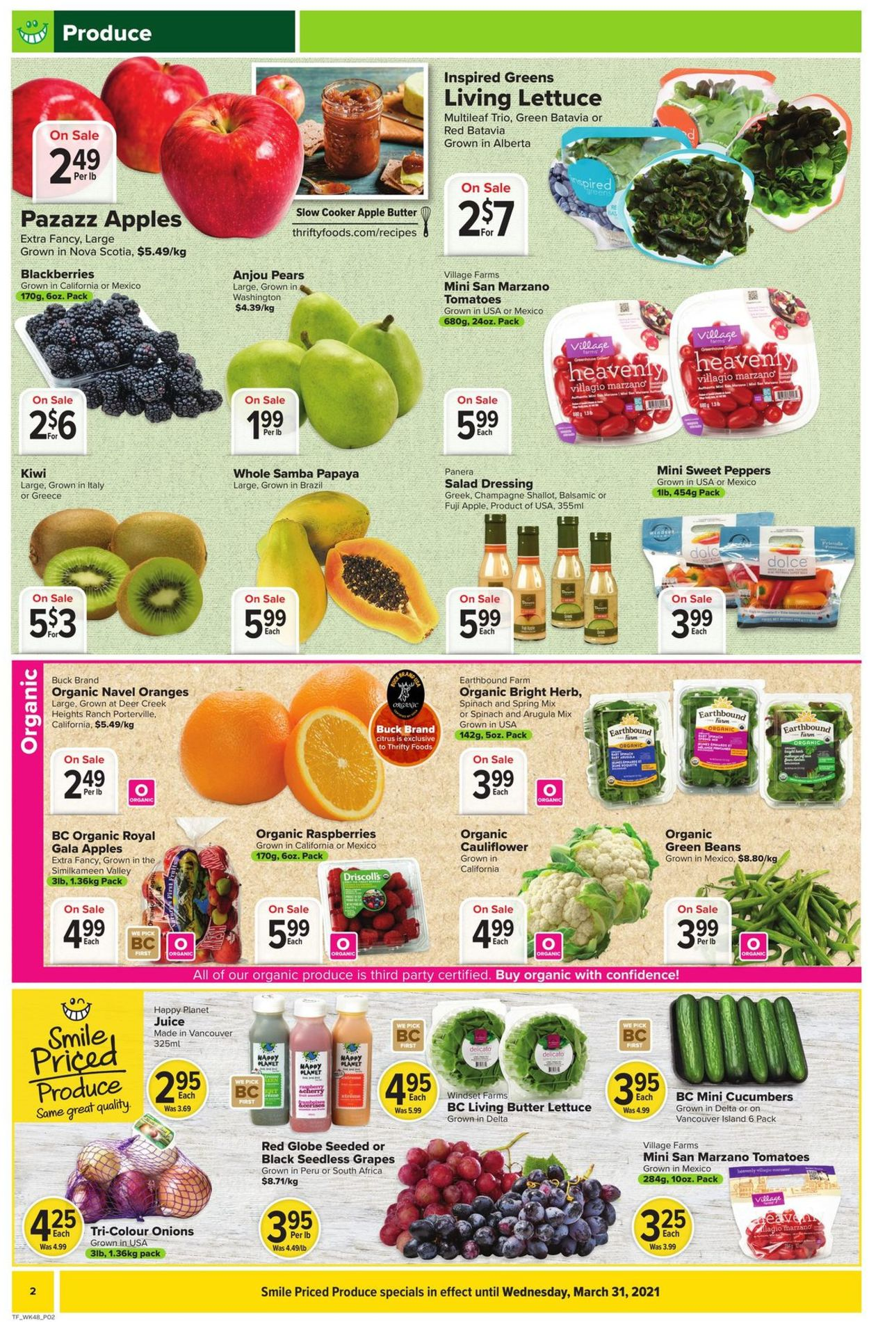 Thrifty Foods Flyer - 03/25-03/31/2021 (Page 2)