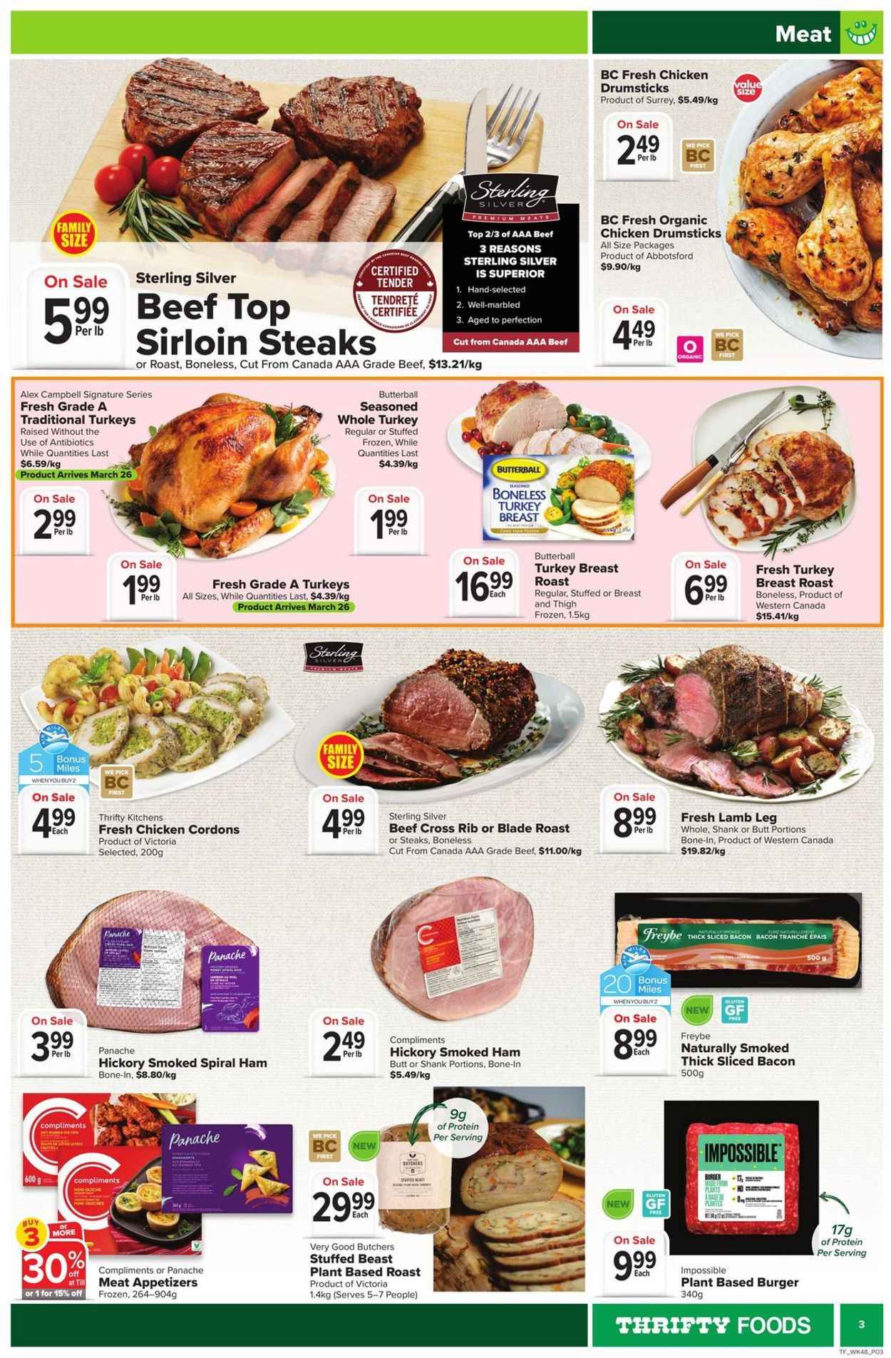 Thrifty Foods Flyer - 03/25-03/31/2021 (Page 3)