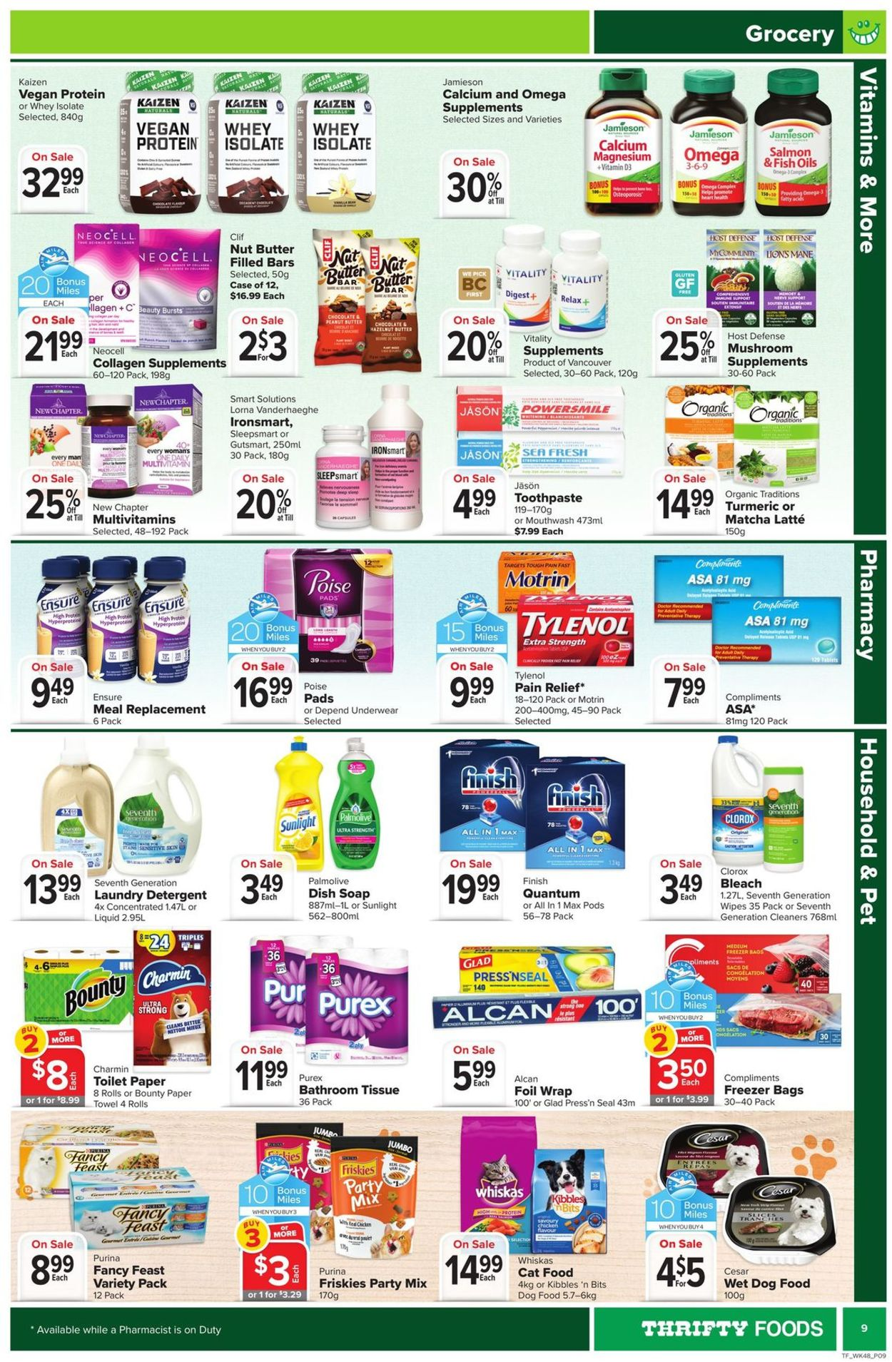 Thrifty Foods Flyer - 03/25-03/31/2021 (Page 9)