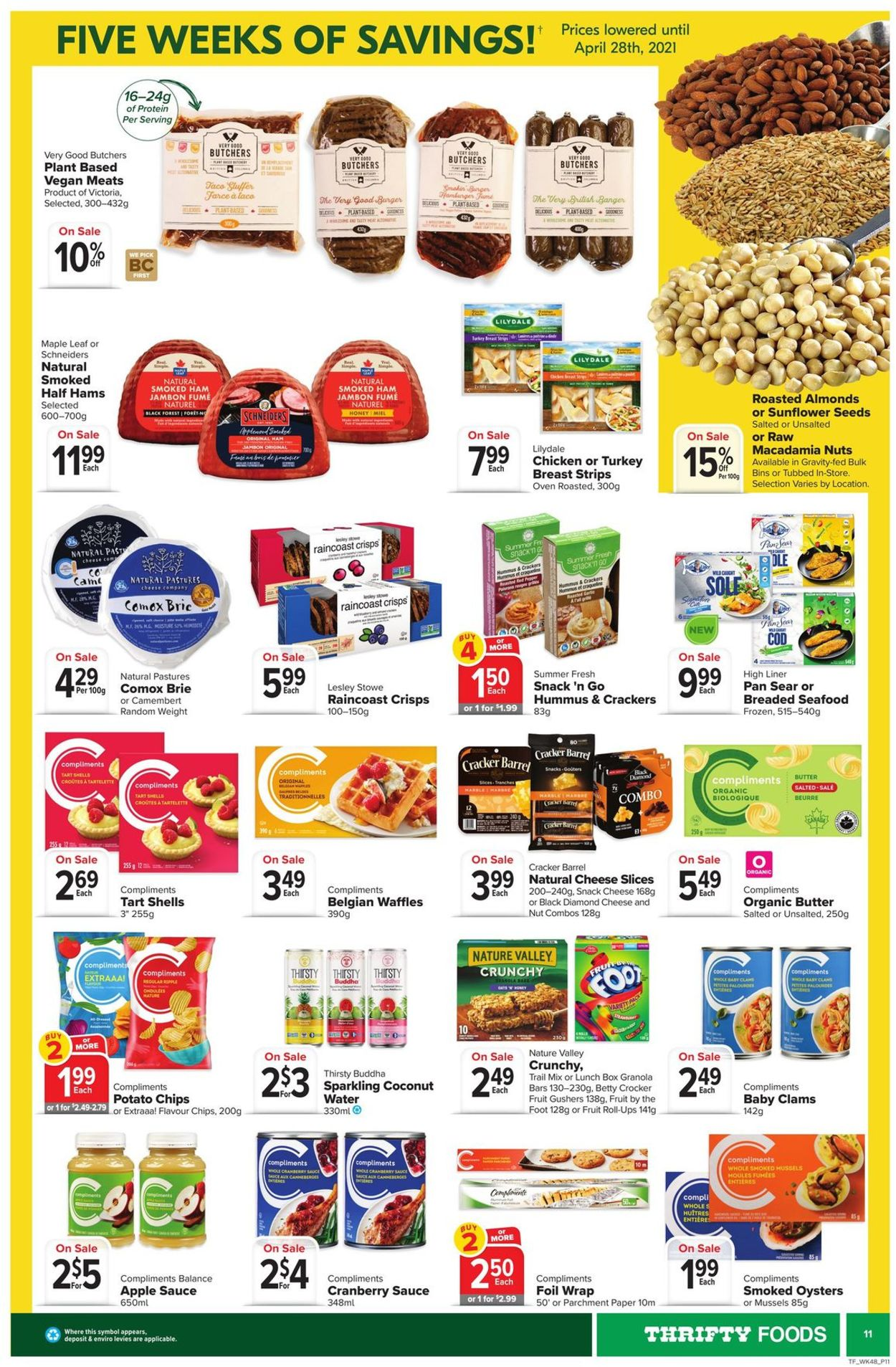 Thrifty Foods Flyer - 03/25-03/31/2021 (Page 11)