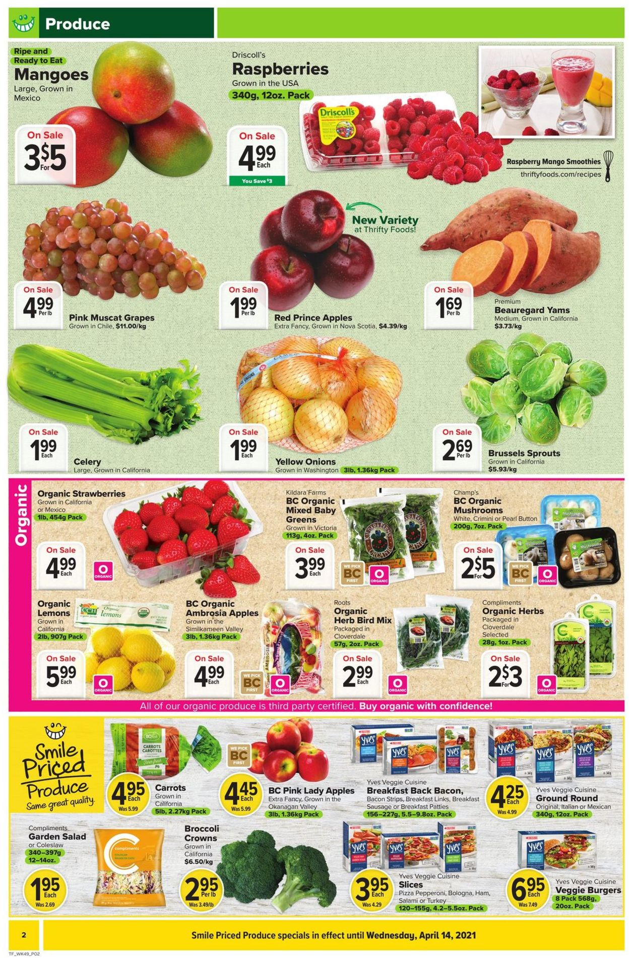 Thrifty Foods Flyer - 04/01-04/07/2021 (Page 2)