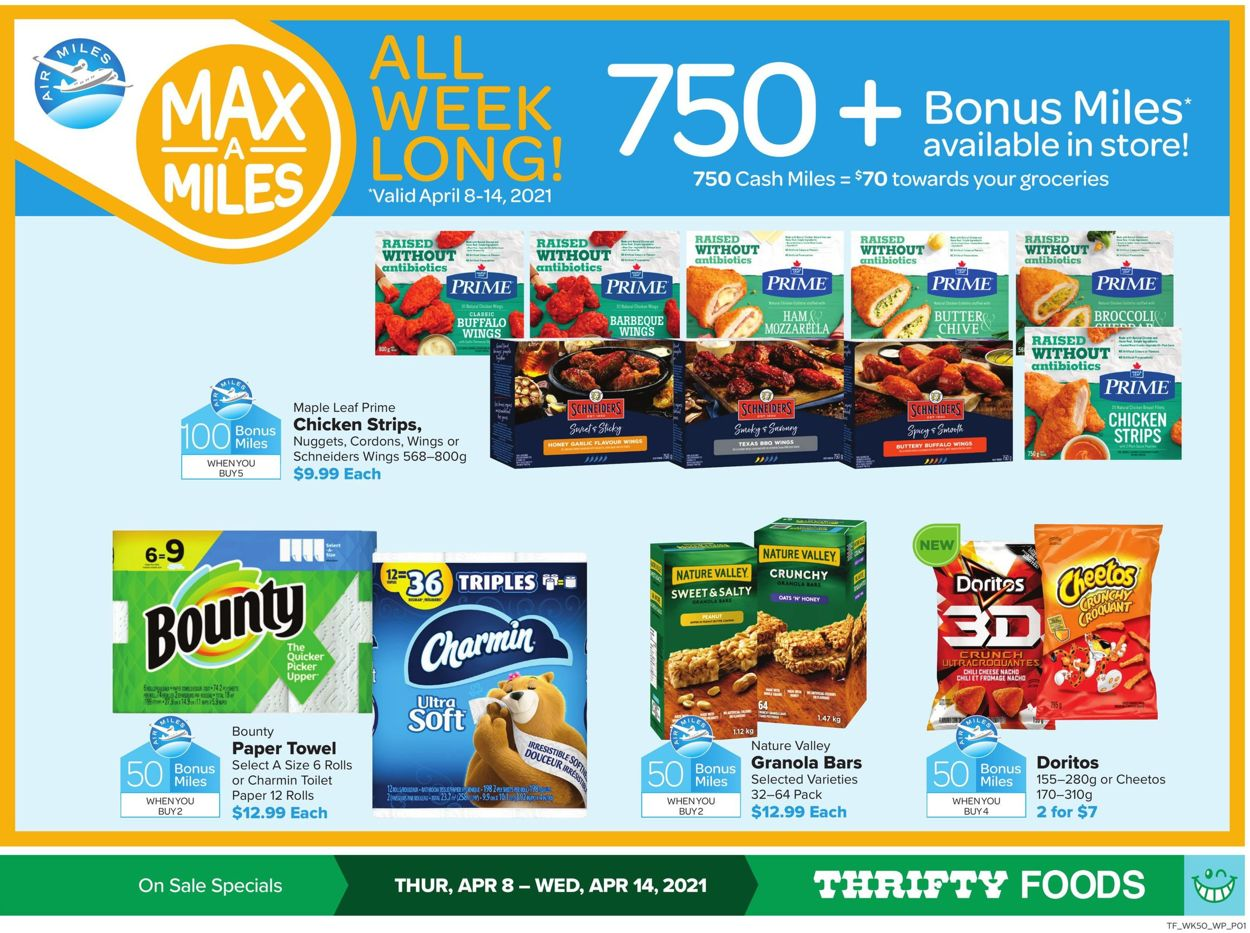 Thrifty Foods Flyer - 04/08-04/14/2021