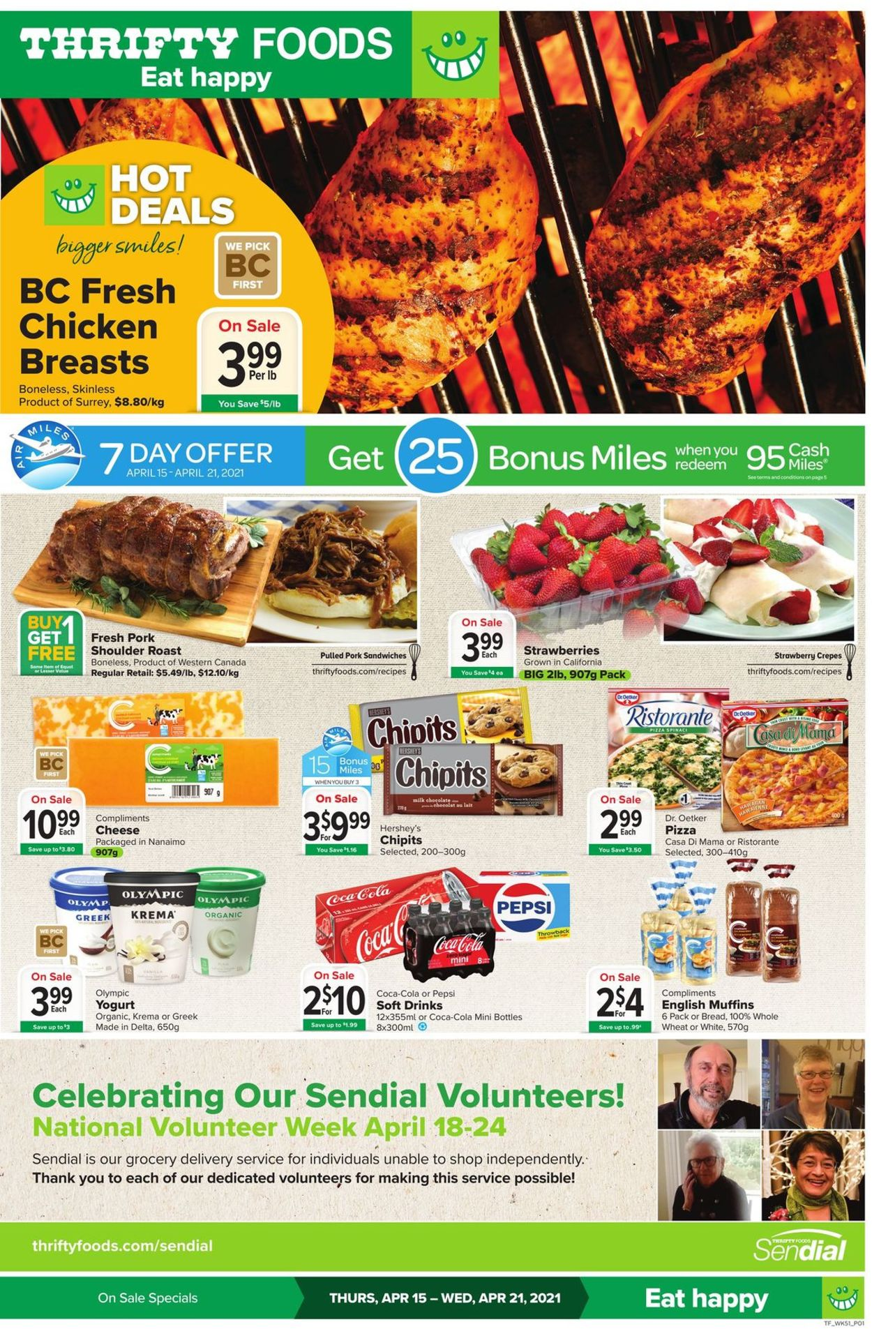 Thrifty Foods Flyer - 04/15-04/21/2021