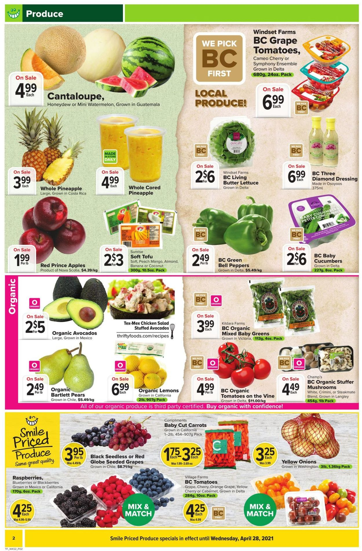Thrifty Foods Flyer - 04/22-04/28/2021 (Page 2)