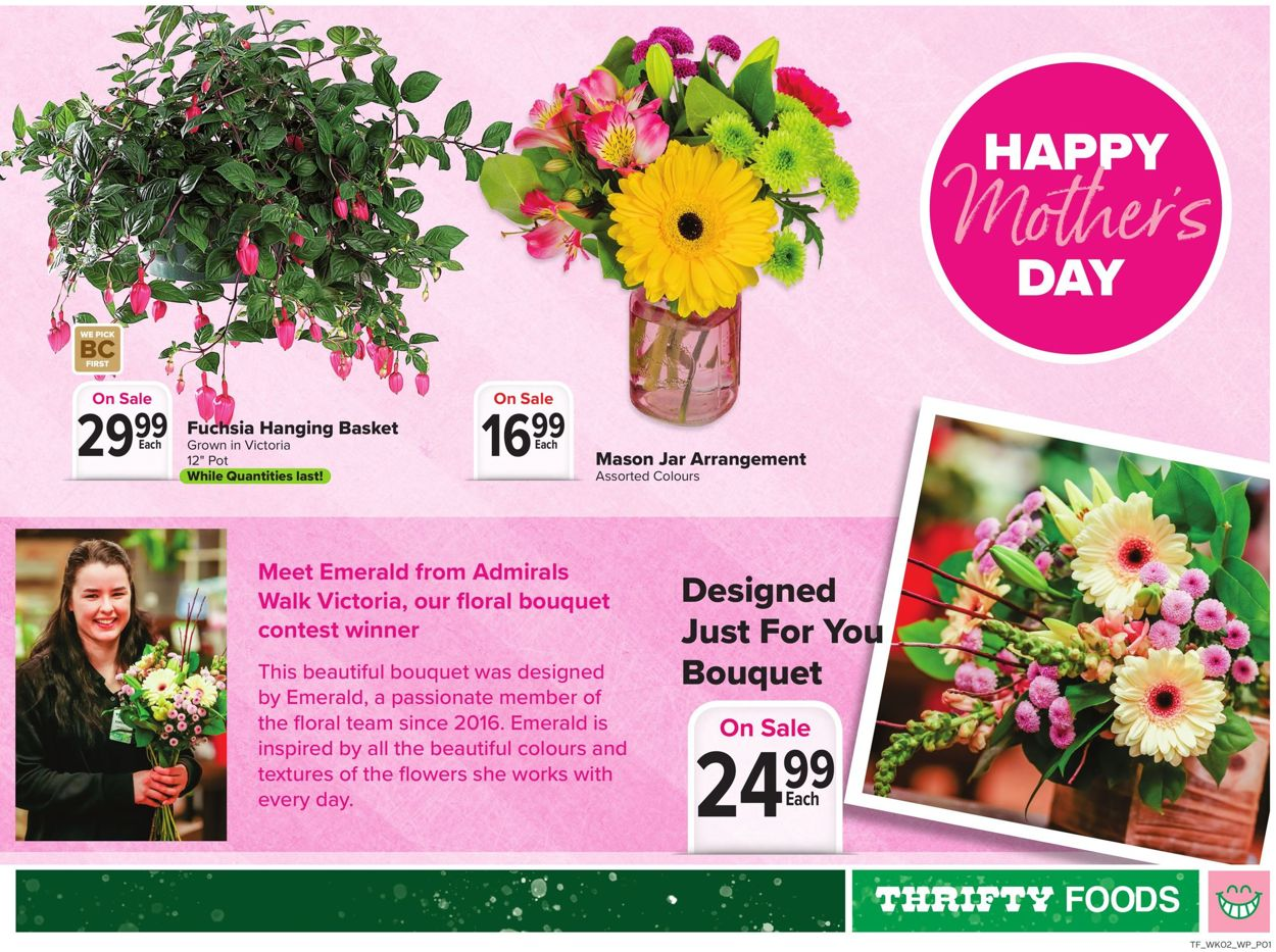 Thrifty Foods Flyer - 05/06-05/12/2021