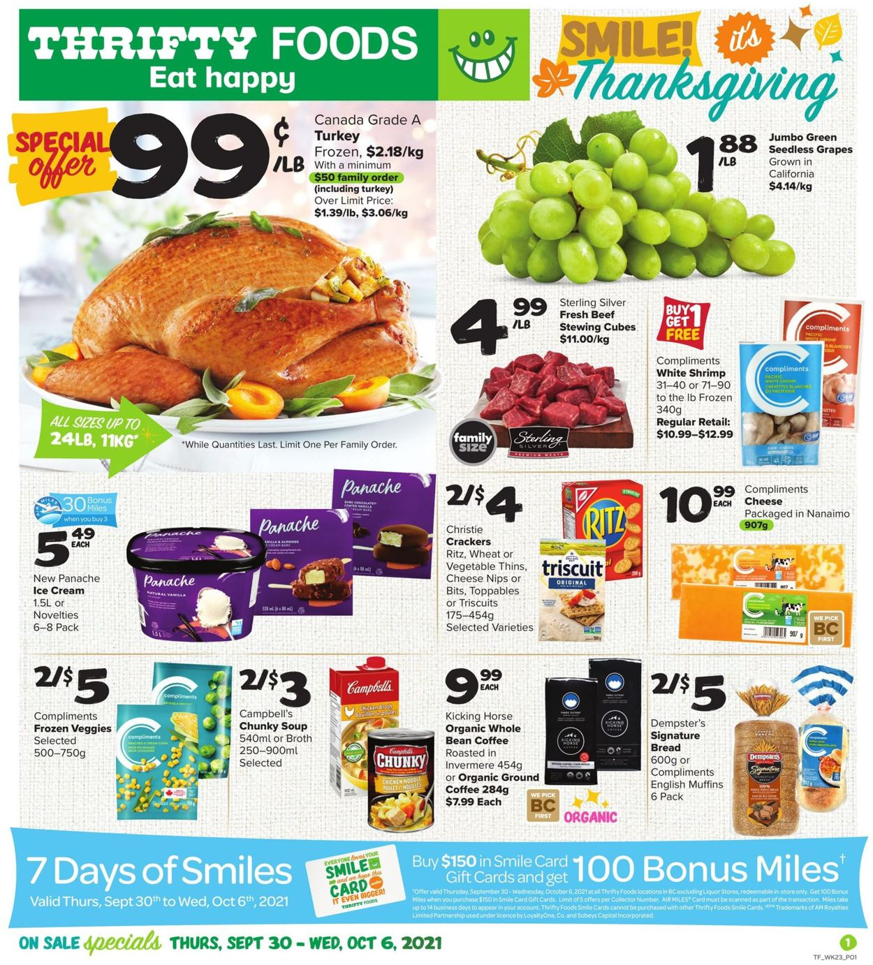 Thrifty Foods Flyer - 09/30-10/06/2021