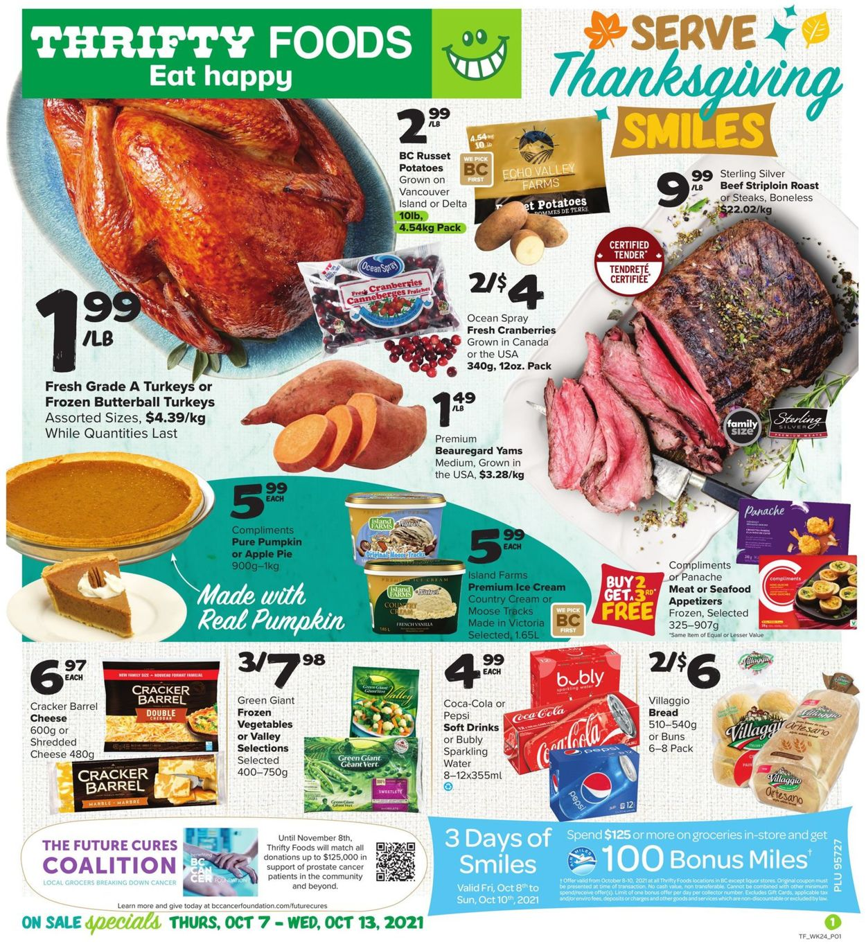 Thrifty Foods Flyer - 10/07-10/13/2021