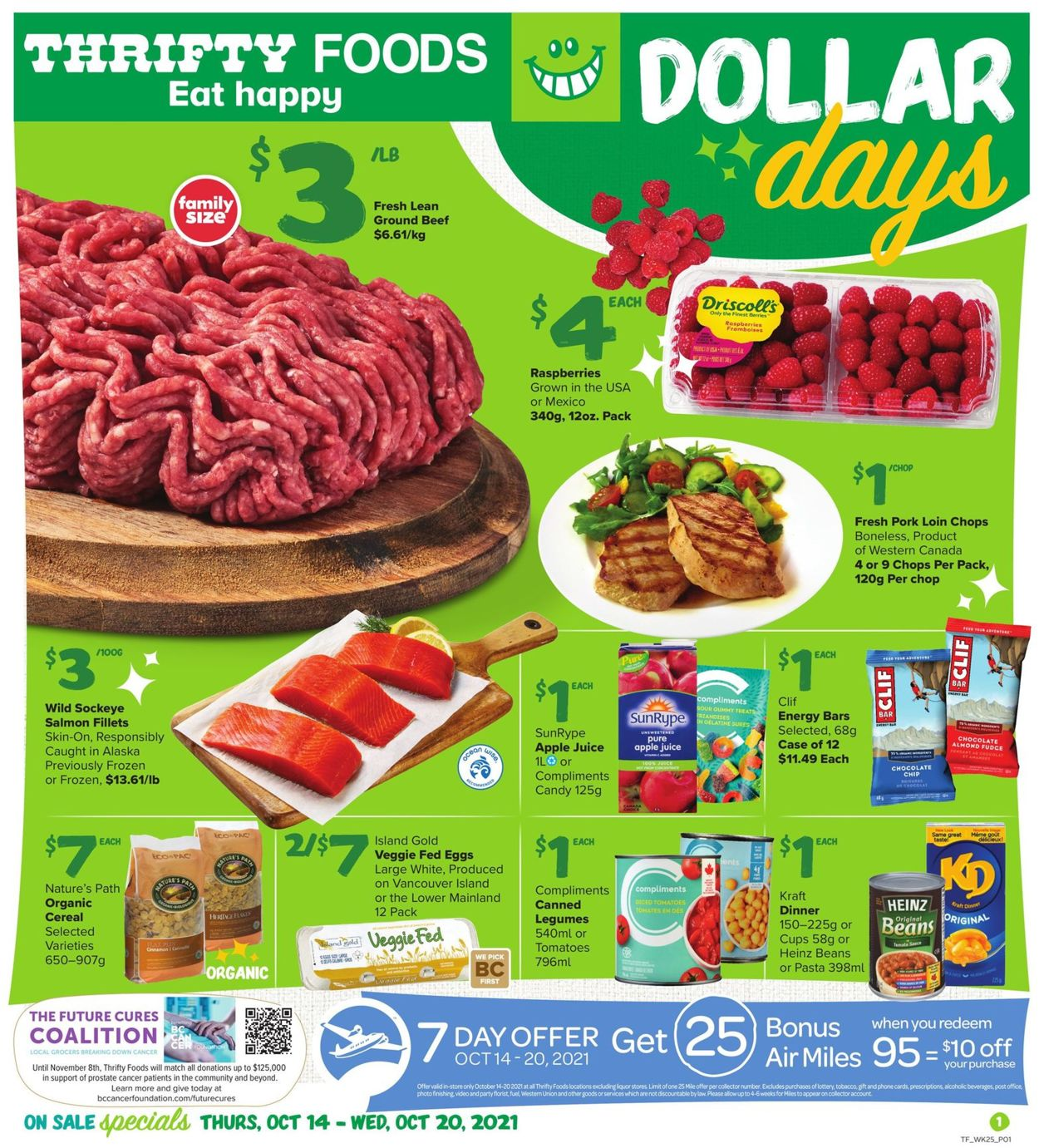 Thrifty Foods Flyer - 10/14-10/20/2021