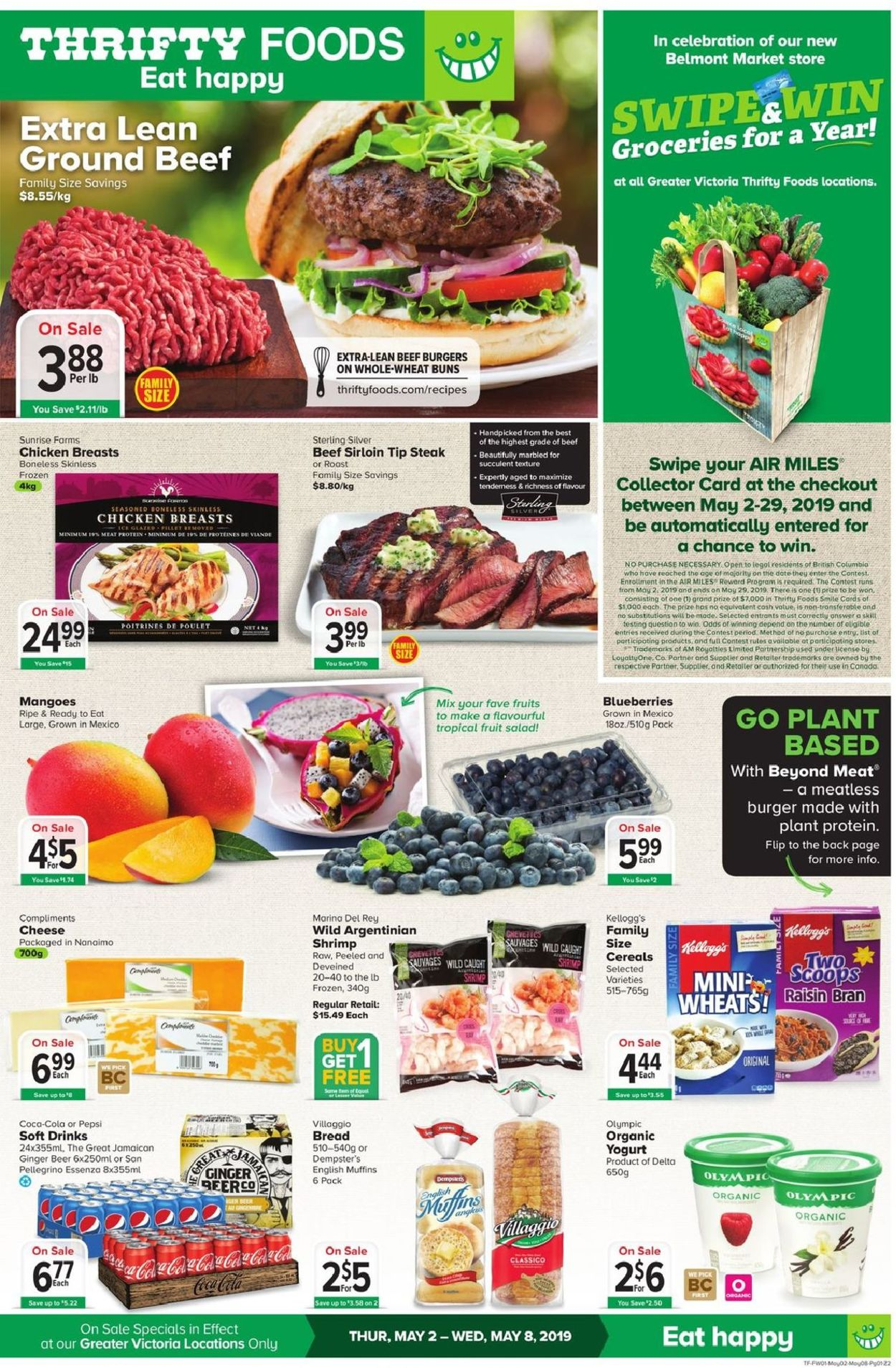 Thrifty Foods Flyer - 05/02-05/08/2019