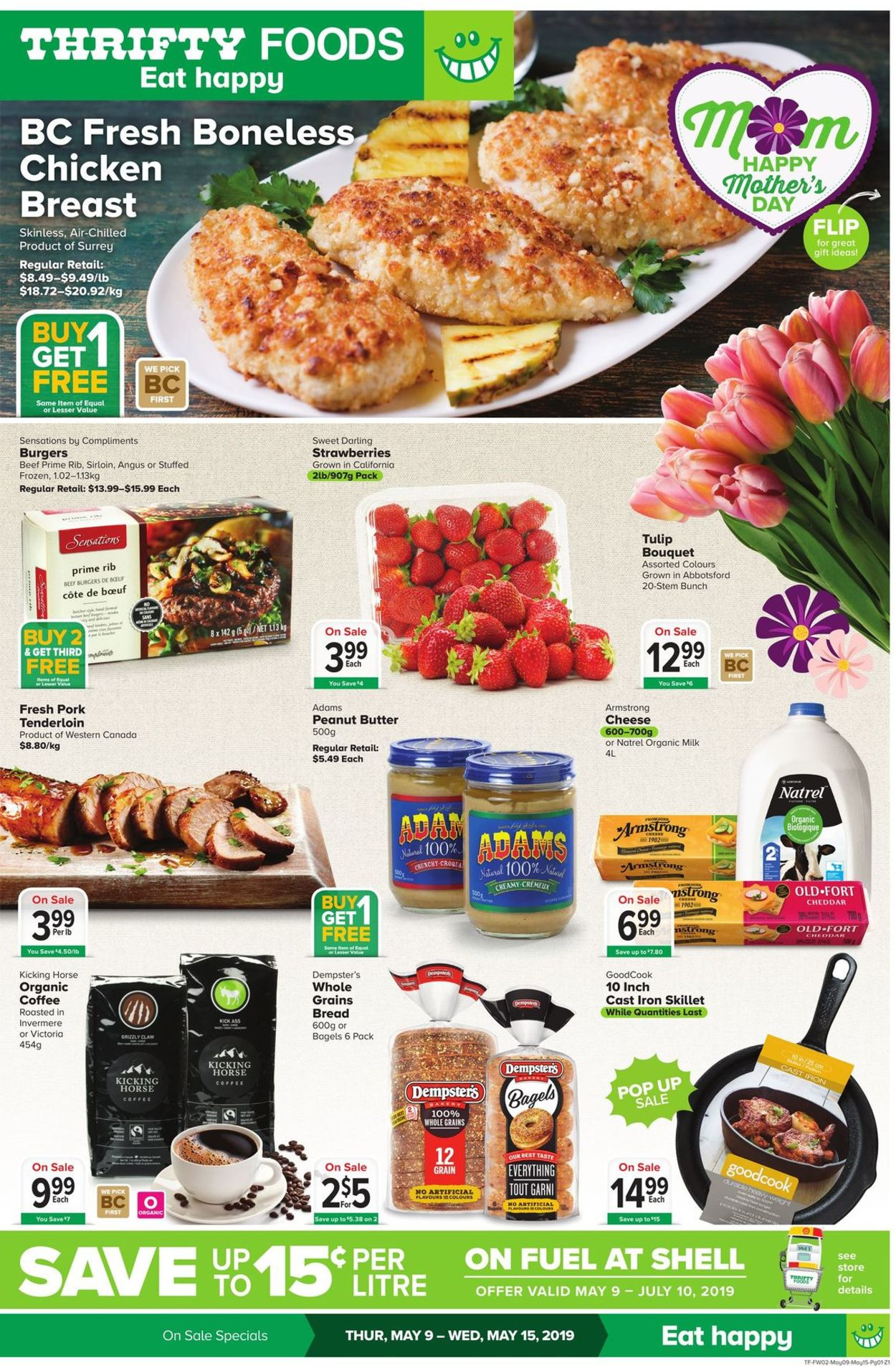 Thrifty Foods Flyer - 05/09-05/15/2019