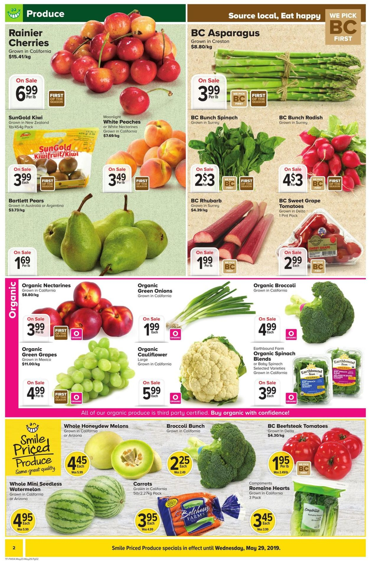 Thrifty Foods Flyer - 05/23-05/29/2019 (Page 2)