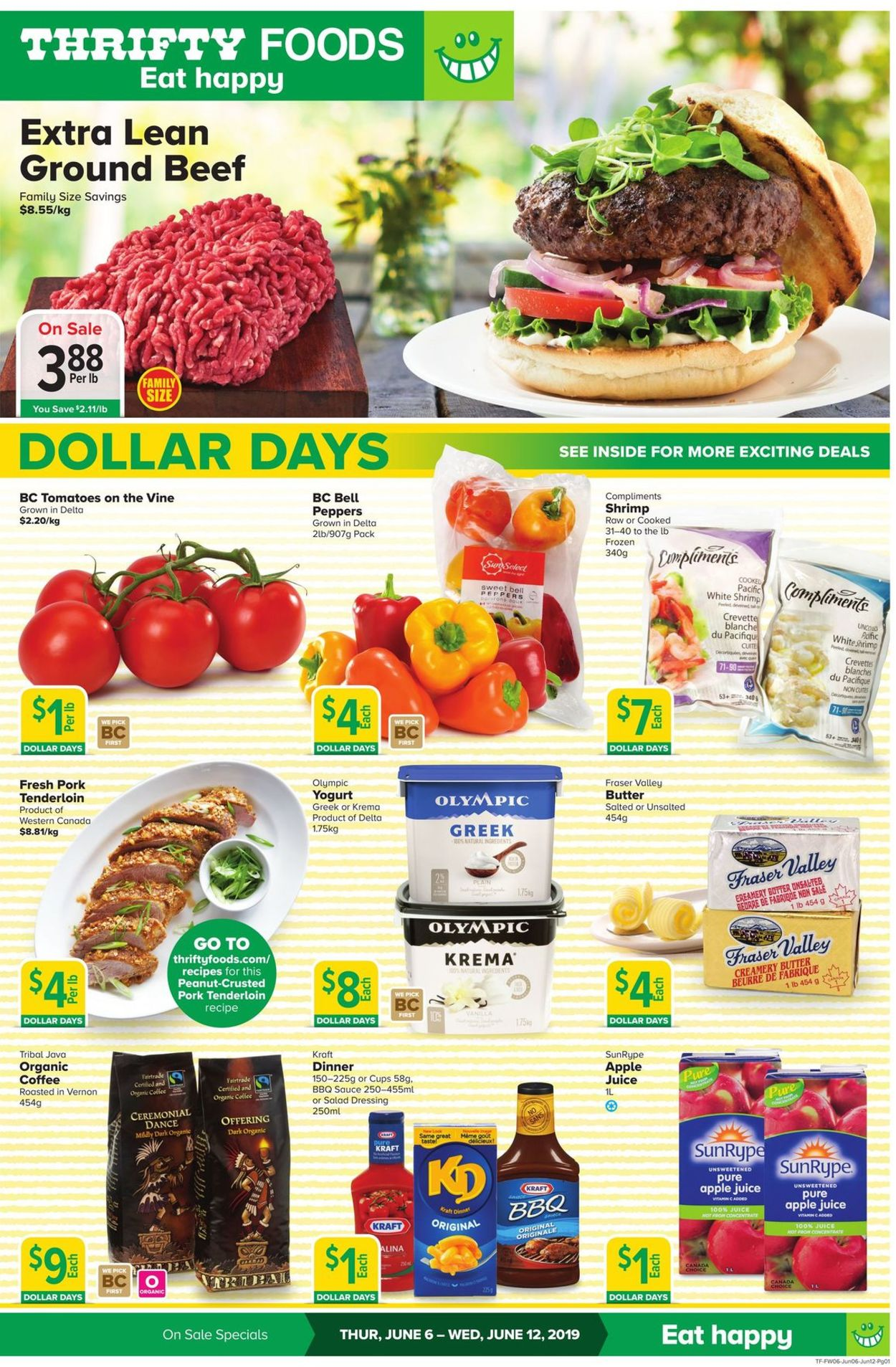 Thrifty Foods Flyer - 06/06-06/12/2019