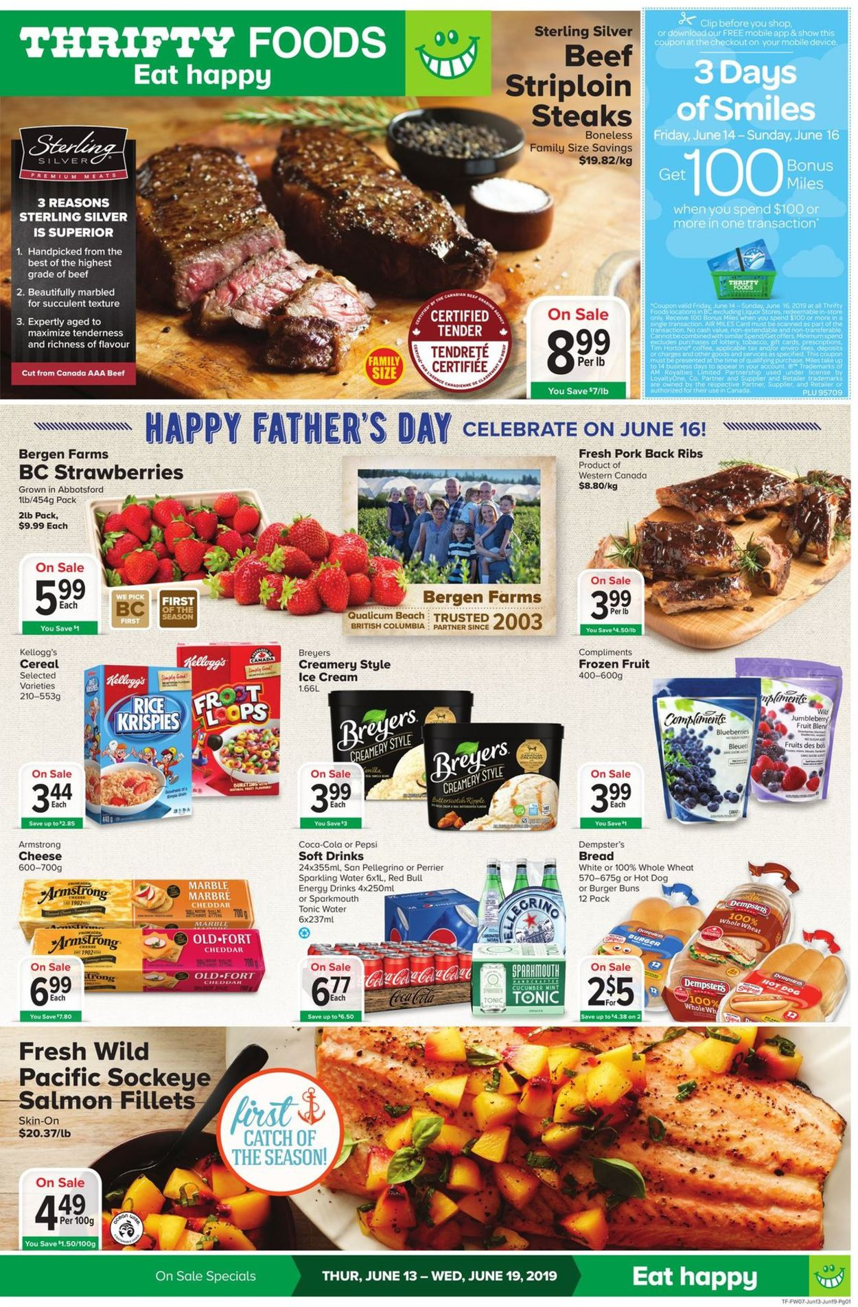 Thrifty Foods Flyer - 06/13-06/19/2019