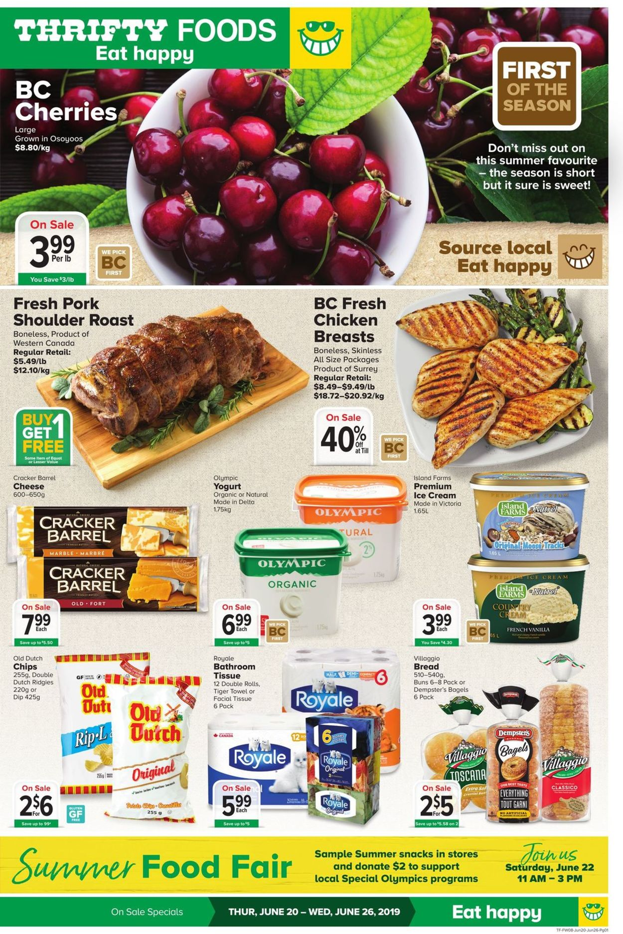 Thrifty Foods Flyer - 06/20-06/26/2019