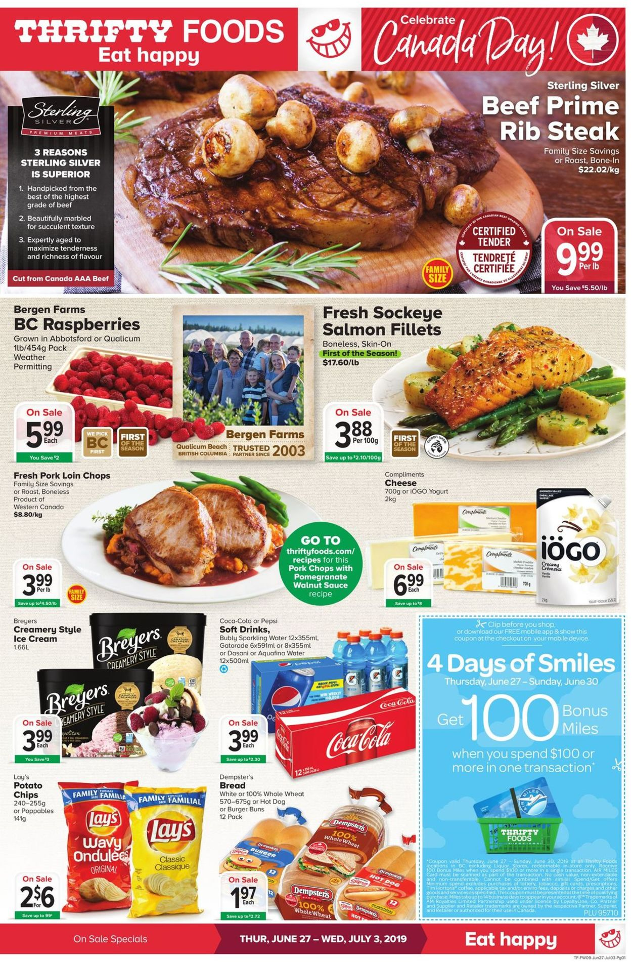 Thrifty Foods Flyer - 06/27-07/03/2019