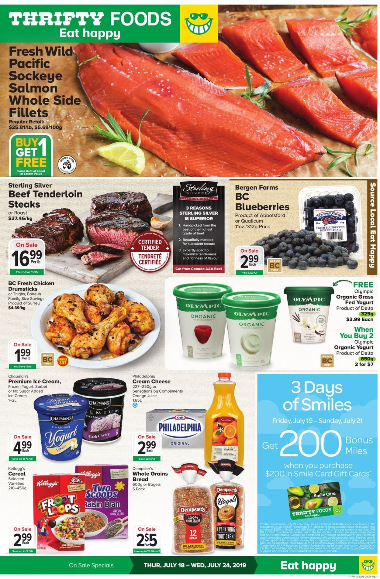 Thrifty Foods Flyer - 07/18-07/24/2019