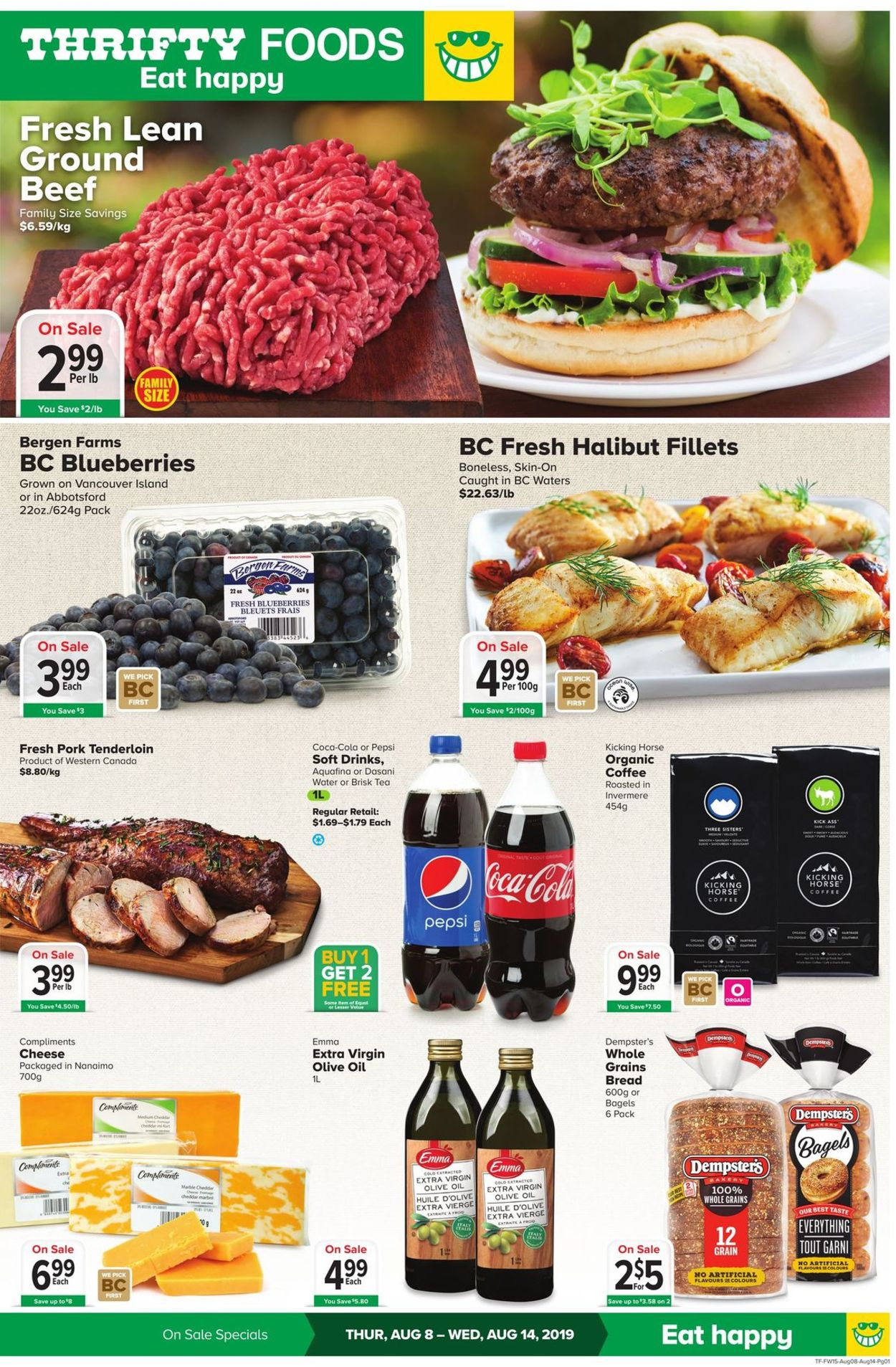 Thrifty Foods Flyer - 08/08-08/14/2019