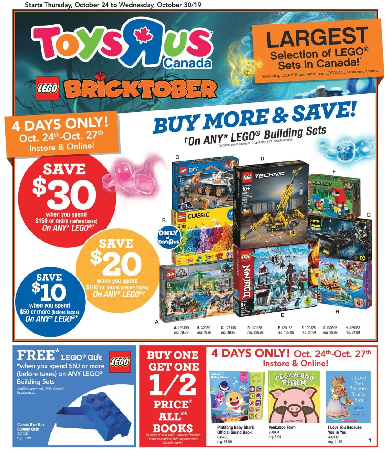 Toys''R''Us Flyer - 10/24-10/30/2019