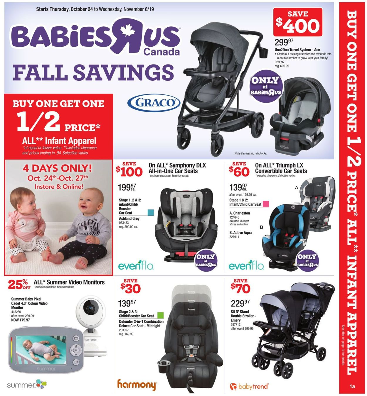 Toys''R''Us Flyer - 10/24-11/06/2019