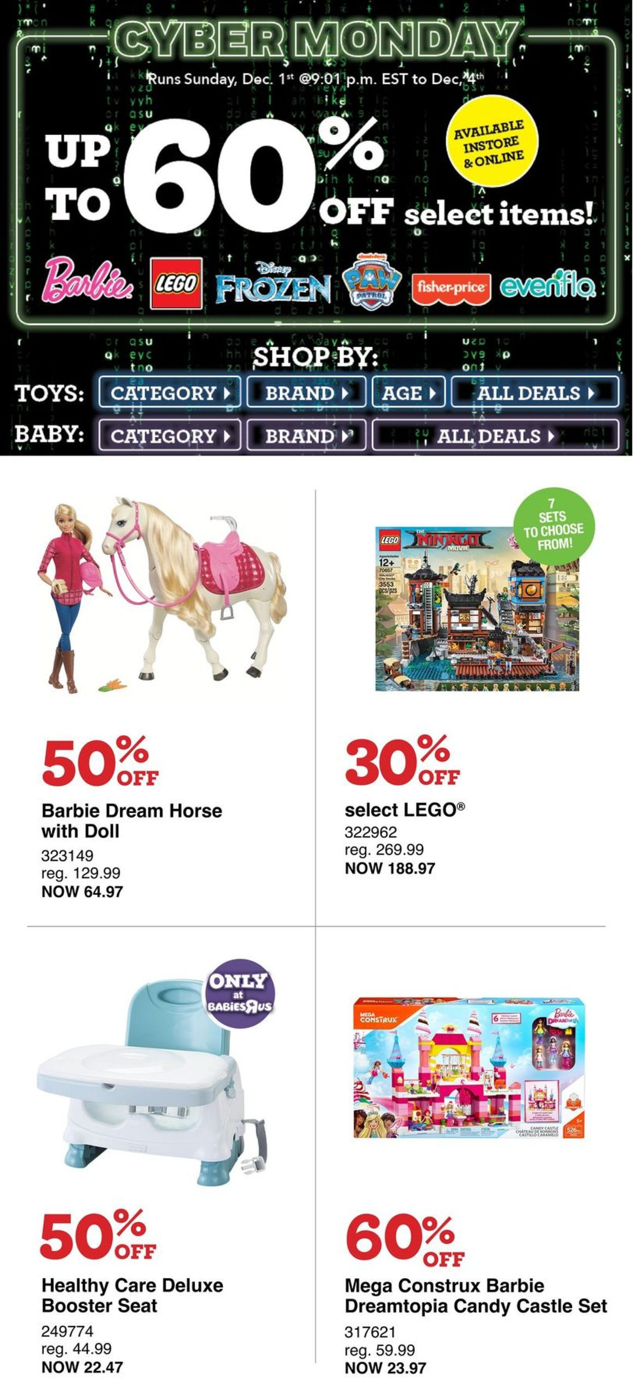 Toys''R''Us CYBER MONDAY 2019
