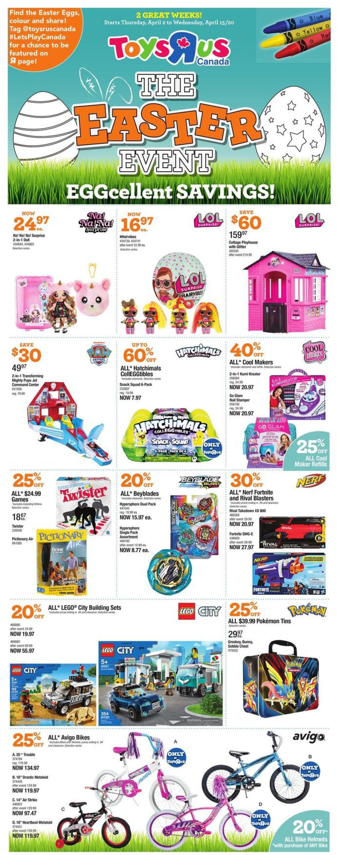 Toys''R''Us Flyer - 04/02-04/15/2020