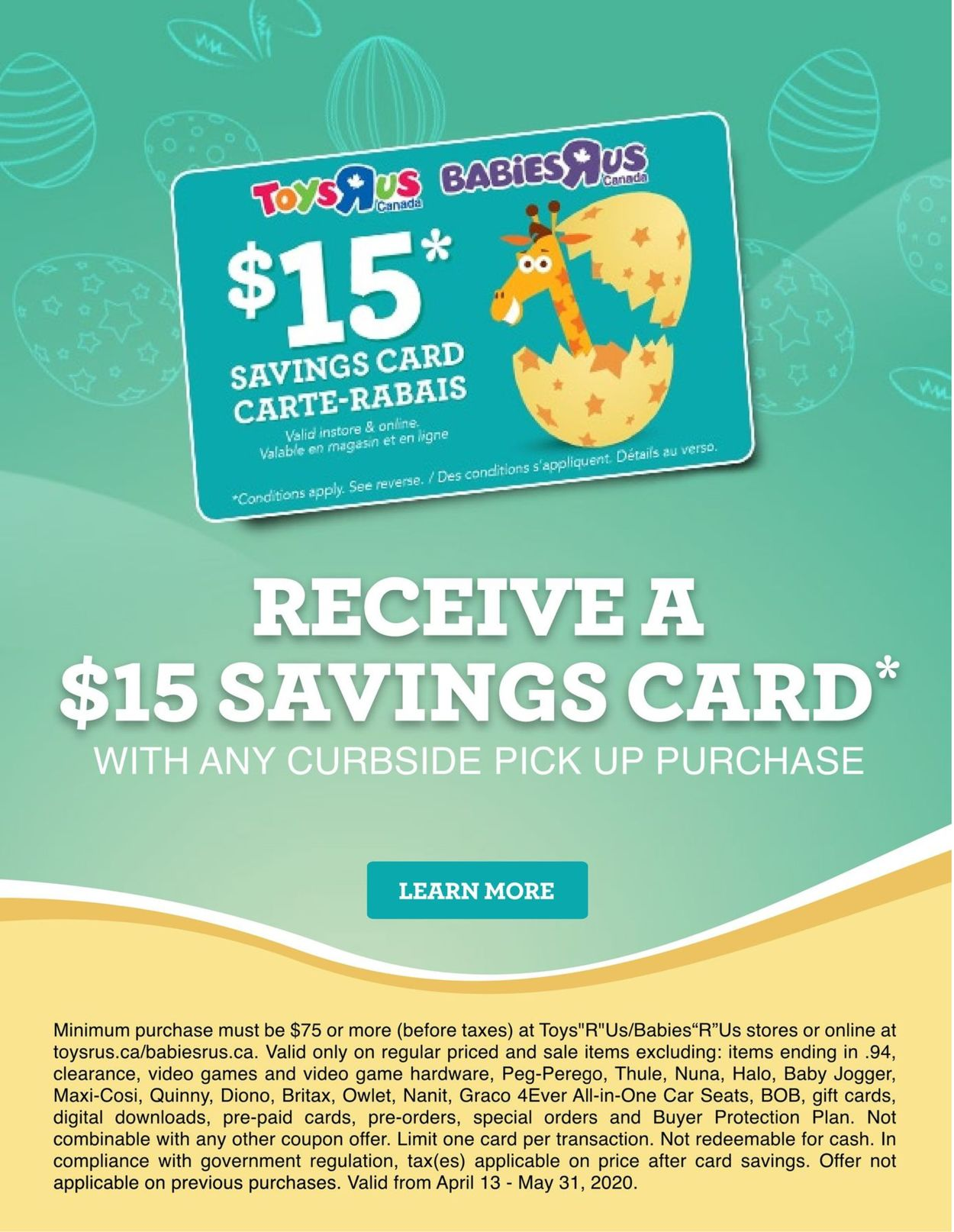 Toys''R''Us Flyer - 04/09-04/15/2020 (Page 22)