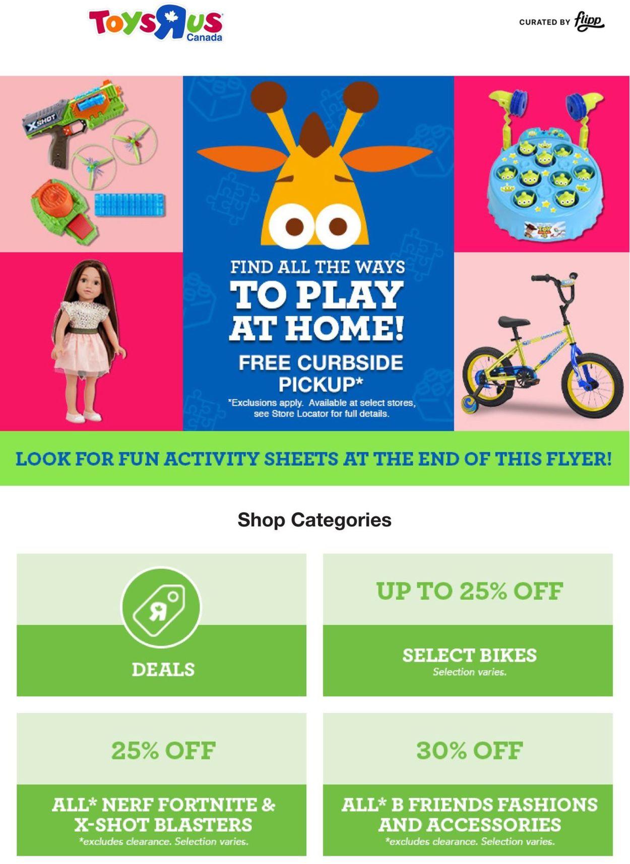 Toys''R''Us Flyer - 05/07-05/13/2020