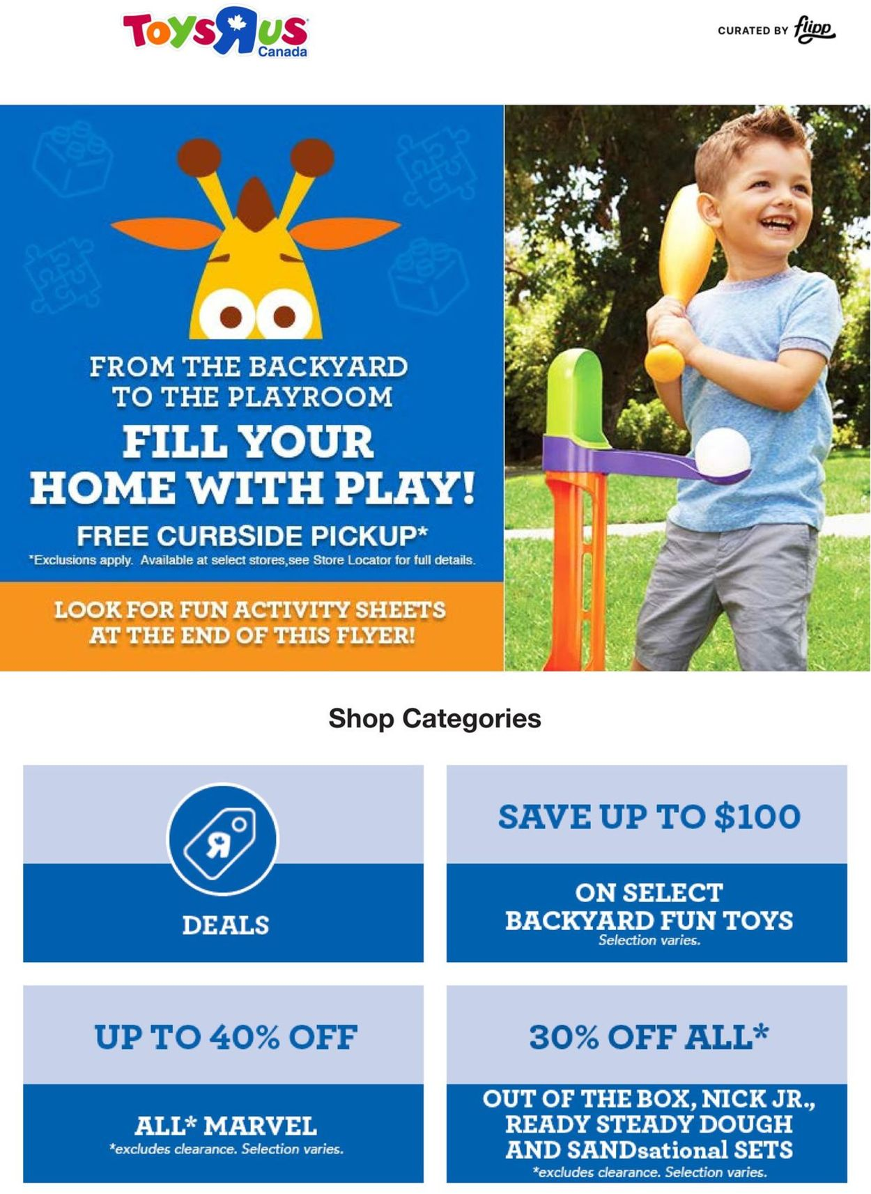 Toys''R''Us Flyer - 05/28-06/03/2020