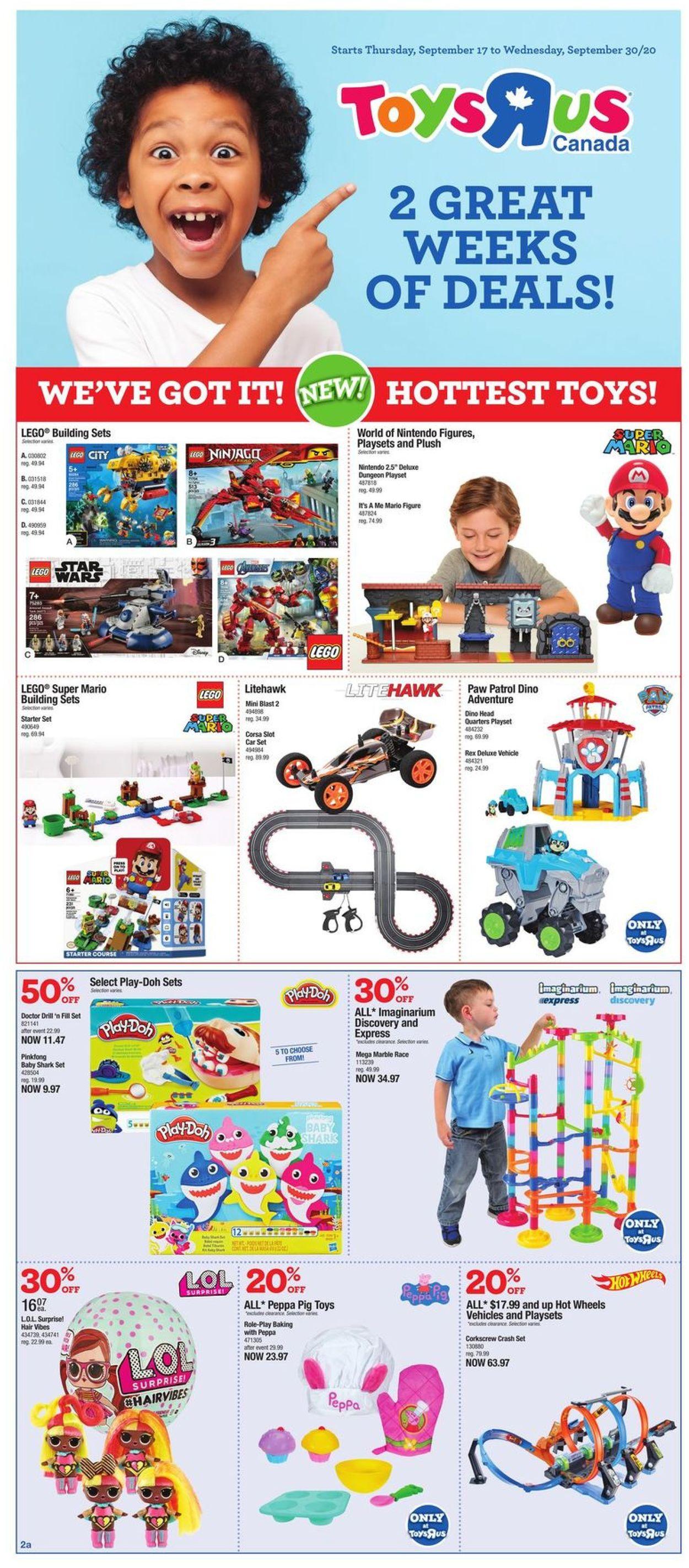 Toys''R''Us Flyer - 09/17-09/30/2020