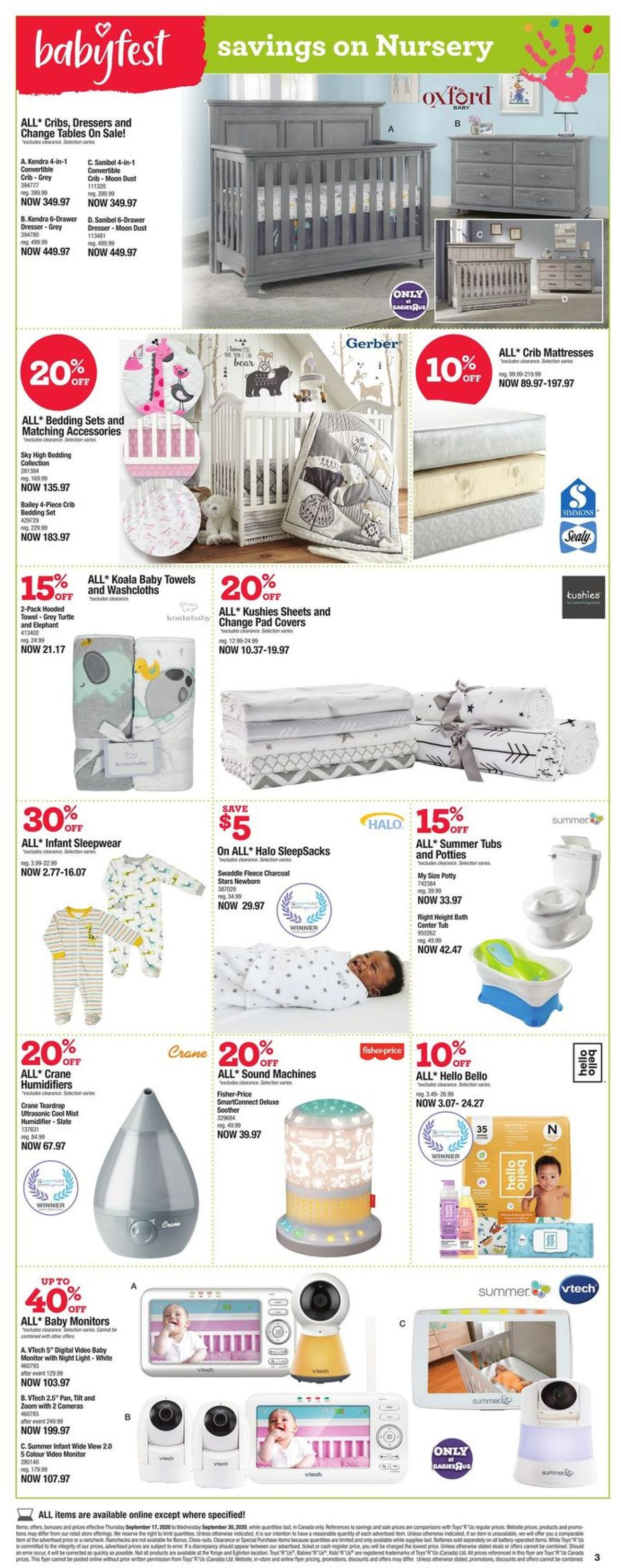 Toys''R''Us Flyer - 09/17-09/30/2020 (Page 3)
