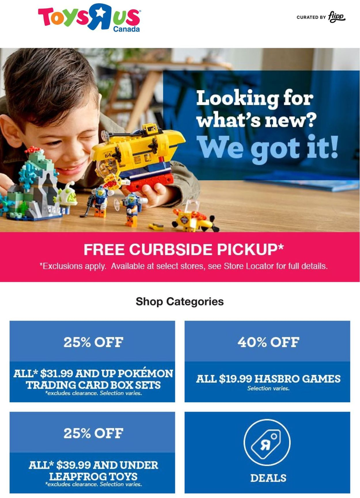 Toys''R''Us Flyer - 09/24-10/01/2020