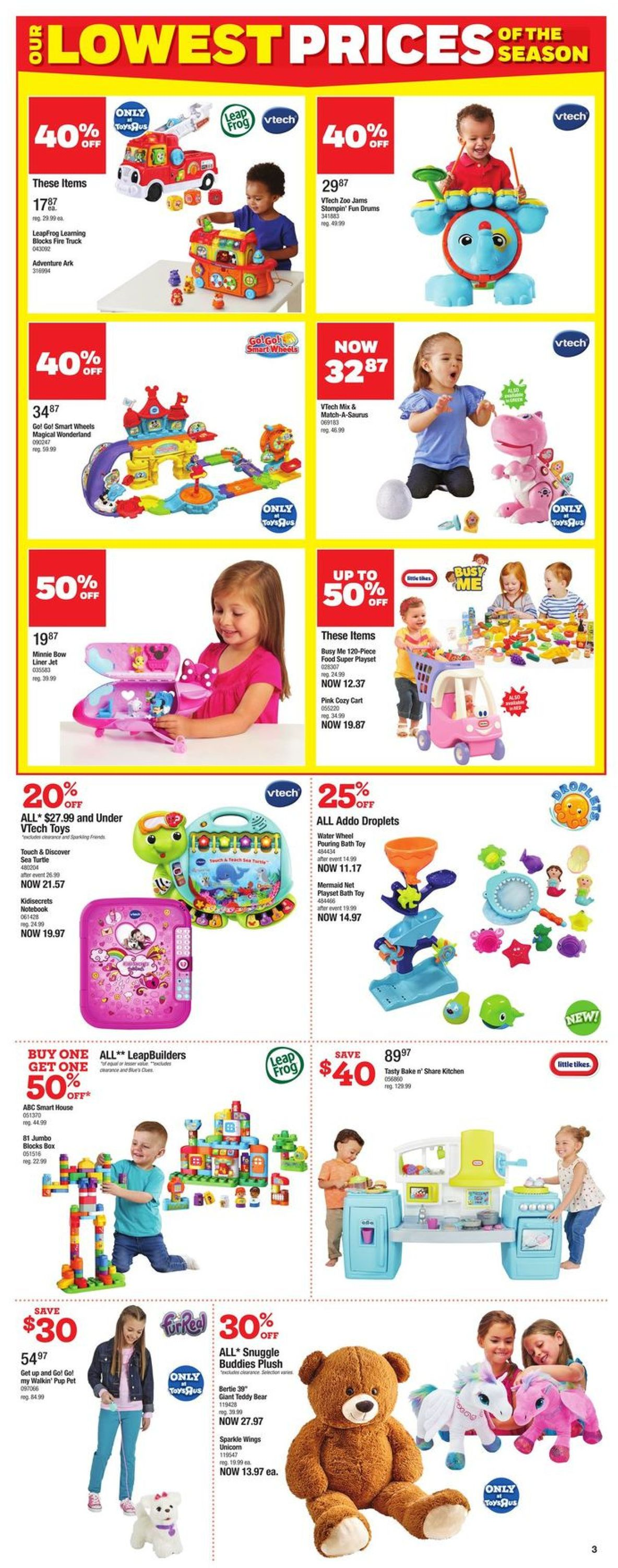 Toys''R''Us Flyer - 10/08-10/21/2020 (Page 3)