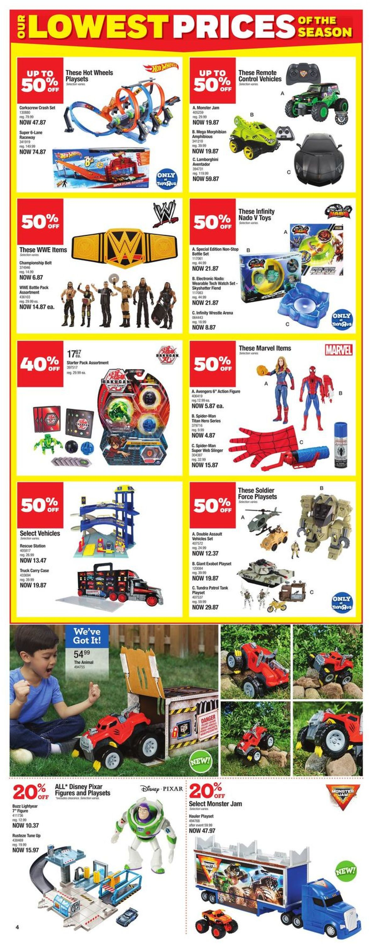 Toys''R''Us Flyer - 10/08-10/21/2020 (Page 4)