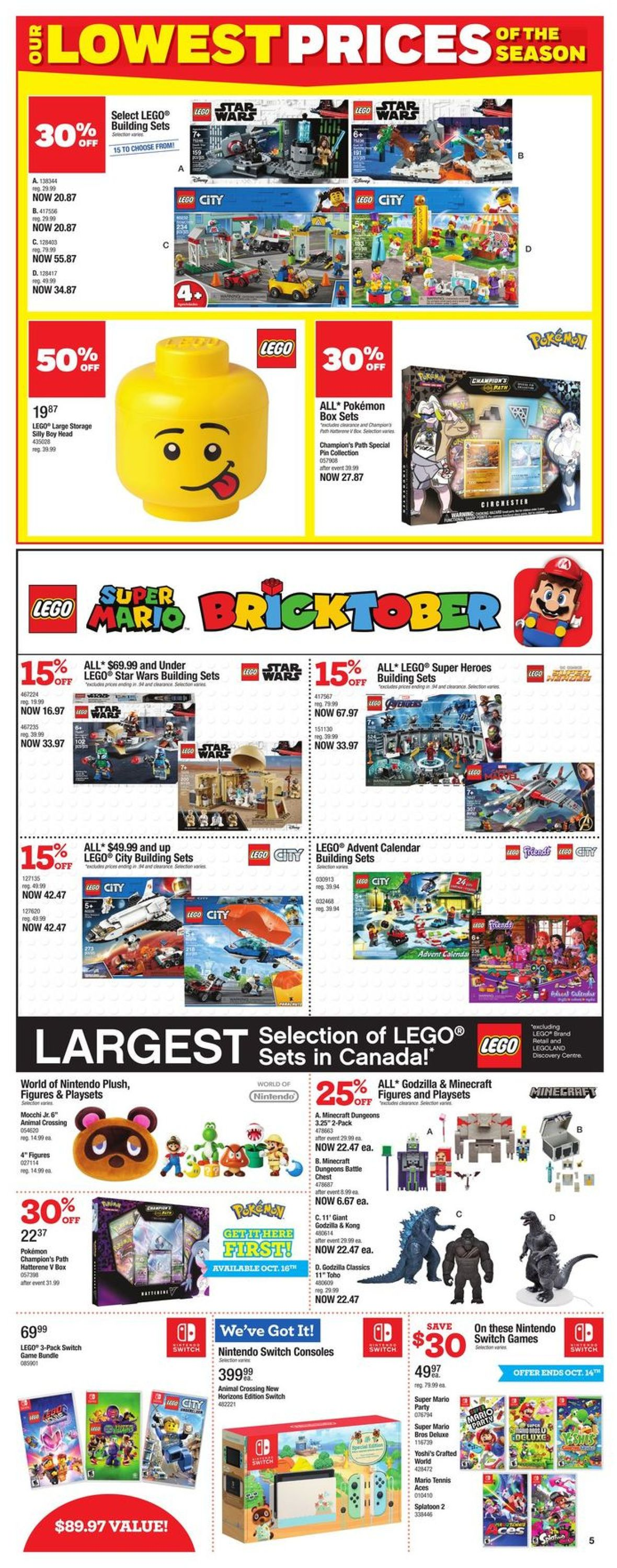 Toys''R''Us Flyer - 10/08-10/21/2020 (Page 5)
