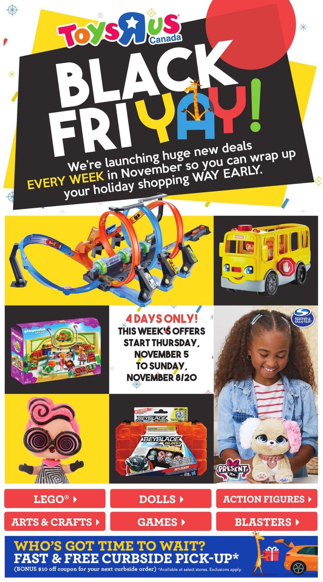 Toys''R''Us - Black Friday 2020 Flyer - 11/05-11/08/2020