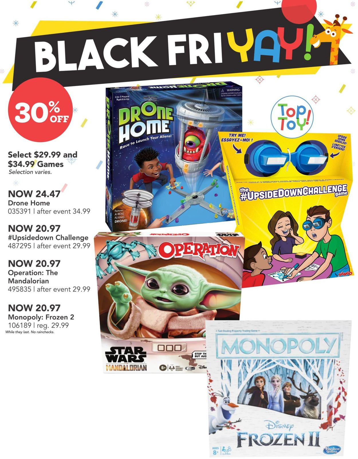 Toys''R''Us - Black Friday 2020 Flyer - 11/05-11/08/2020 (Page 3)