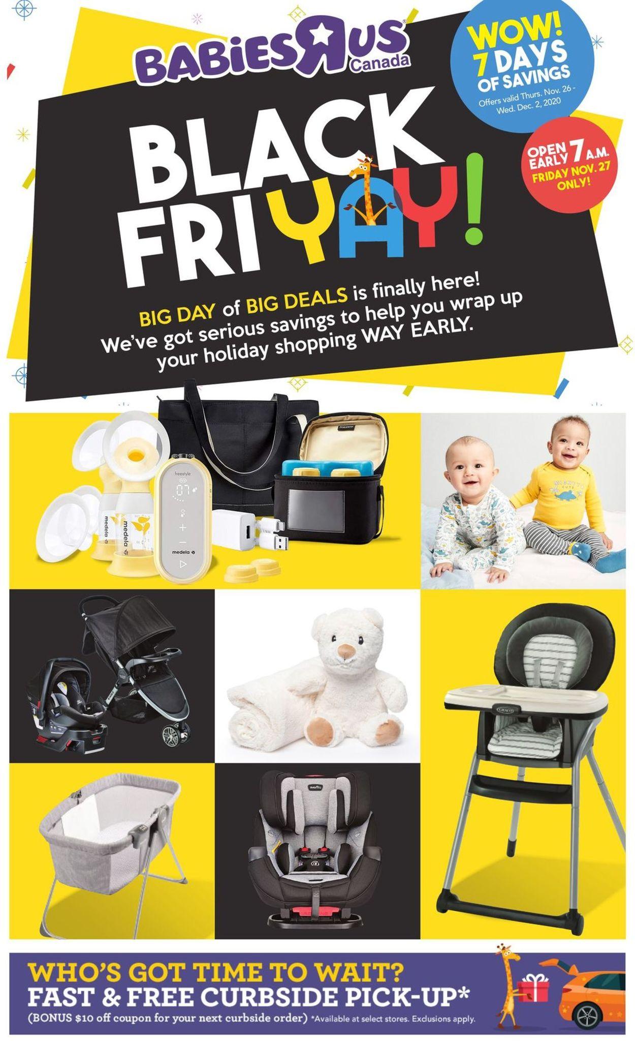 Toys''R''Us - Black Friday 2020 Flyer - 11/25-12/02/2020