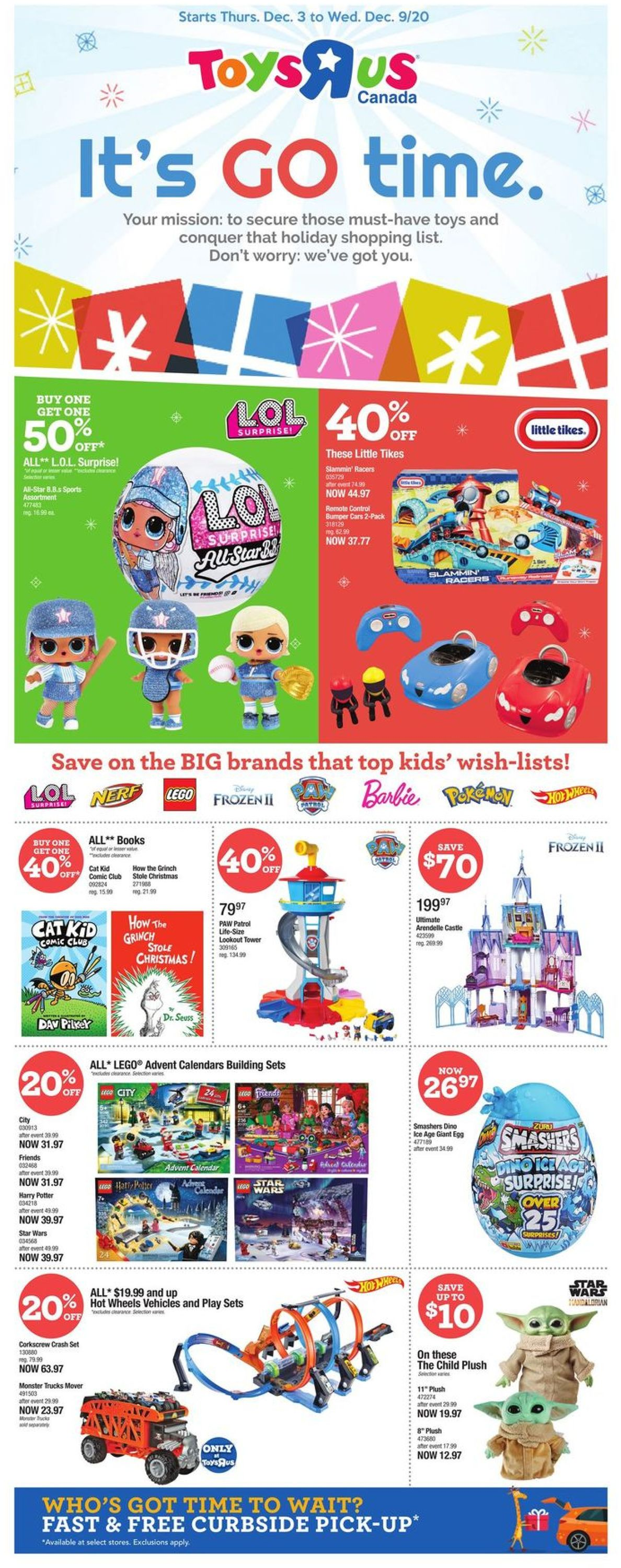 Toys''R''Us - Holiday 2020 Flyer - 12/03-12/09/2020