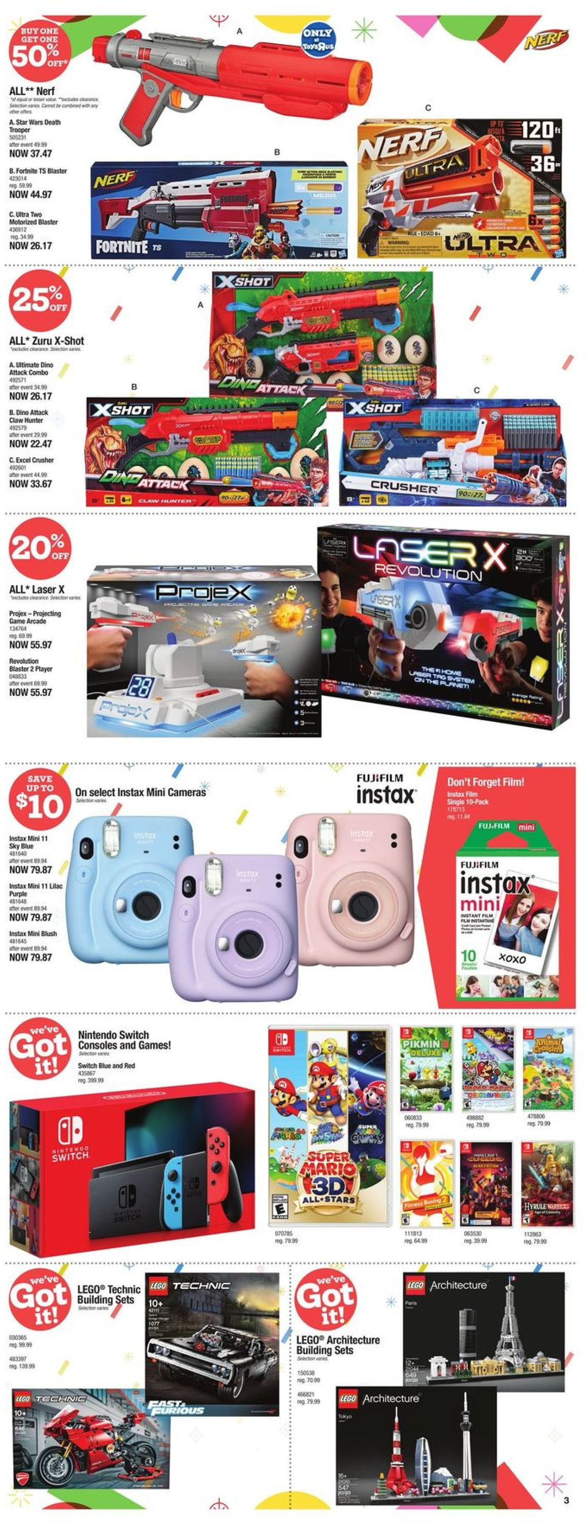 Toys''R''Us - Holiday 2020 Flyer - 12/10-12/16/2020 (Page 3)