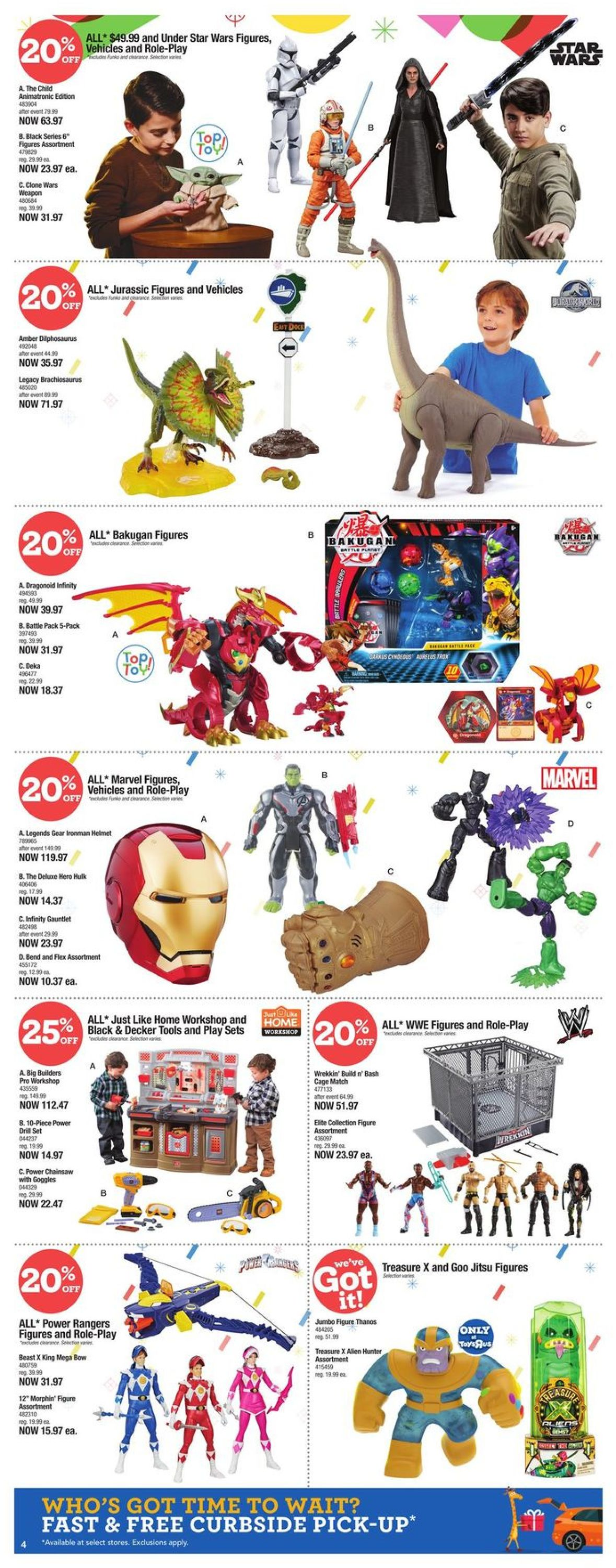 Toys''R''Us - Holiday 2020 Flyer - 12/10-12/16/2020 (Page 4)