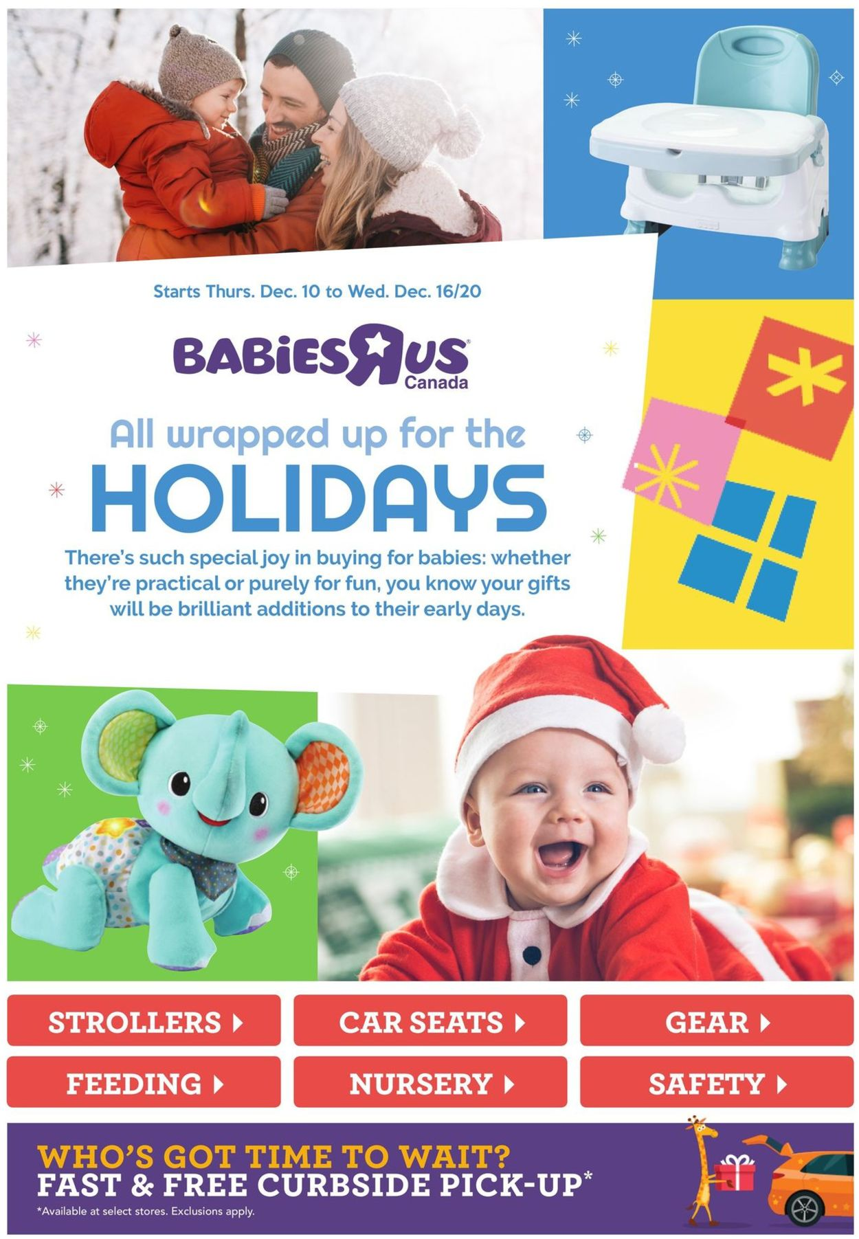 Toys''R''Us - Holiday 2020 Flyer - 12/10-12/16/2020