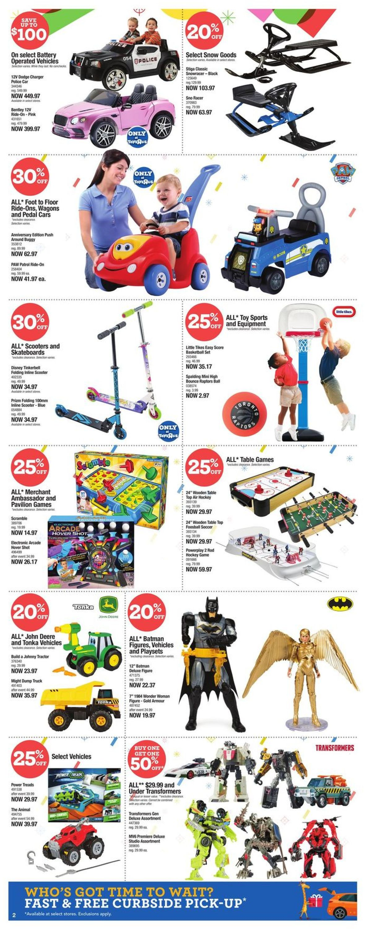 Toys''R''Us - Holiday 2020 Flyer - 12/17-12/24/2020 (Page 3)