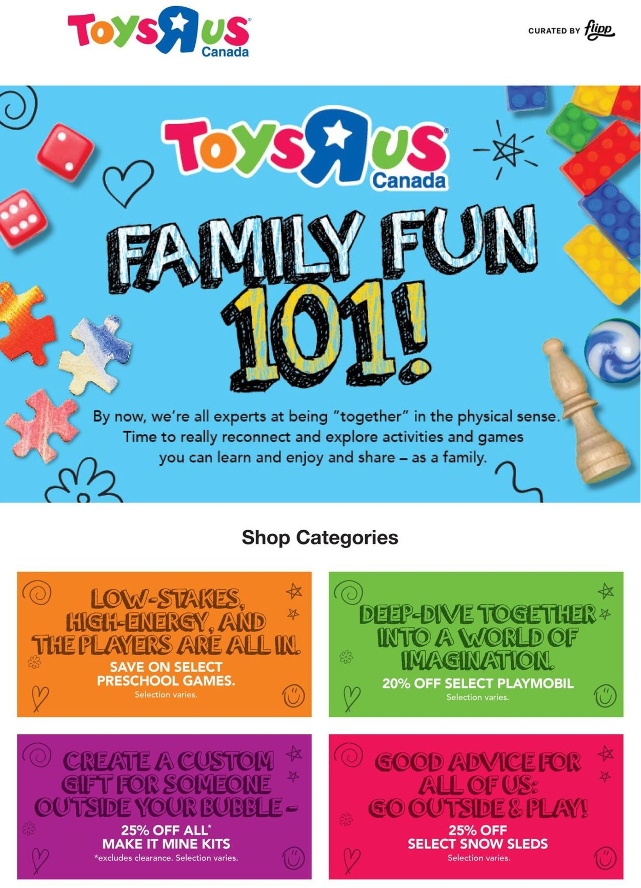 Toys''R''Us Flyer - 01/14-01/20/2021
