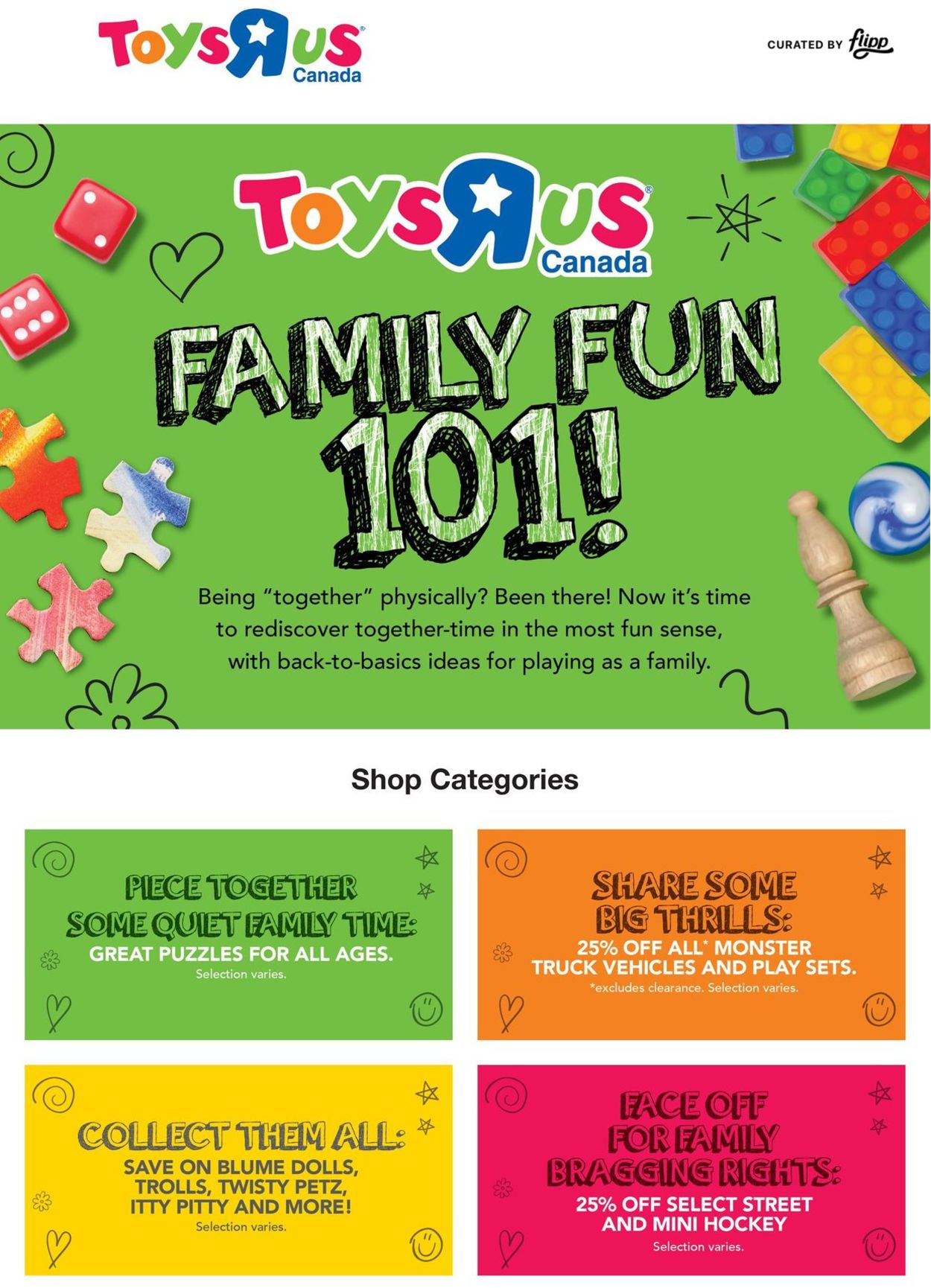 Toys''R''Us Flyer - 01/21-01/27/2021