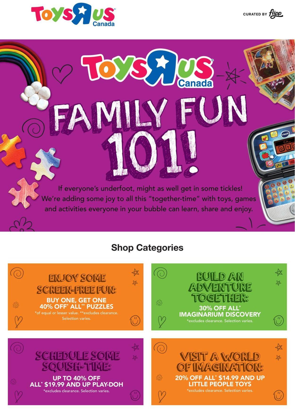 Toys''R''Us Flyer - 02/04-02/10/2021