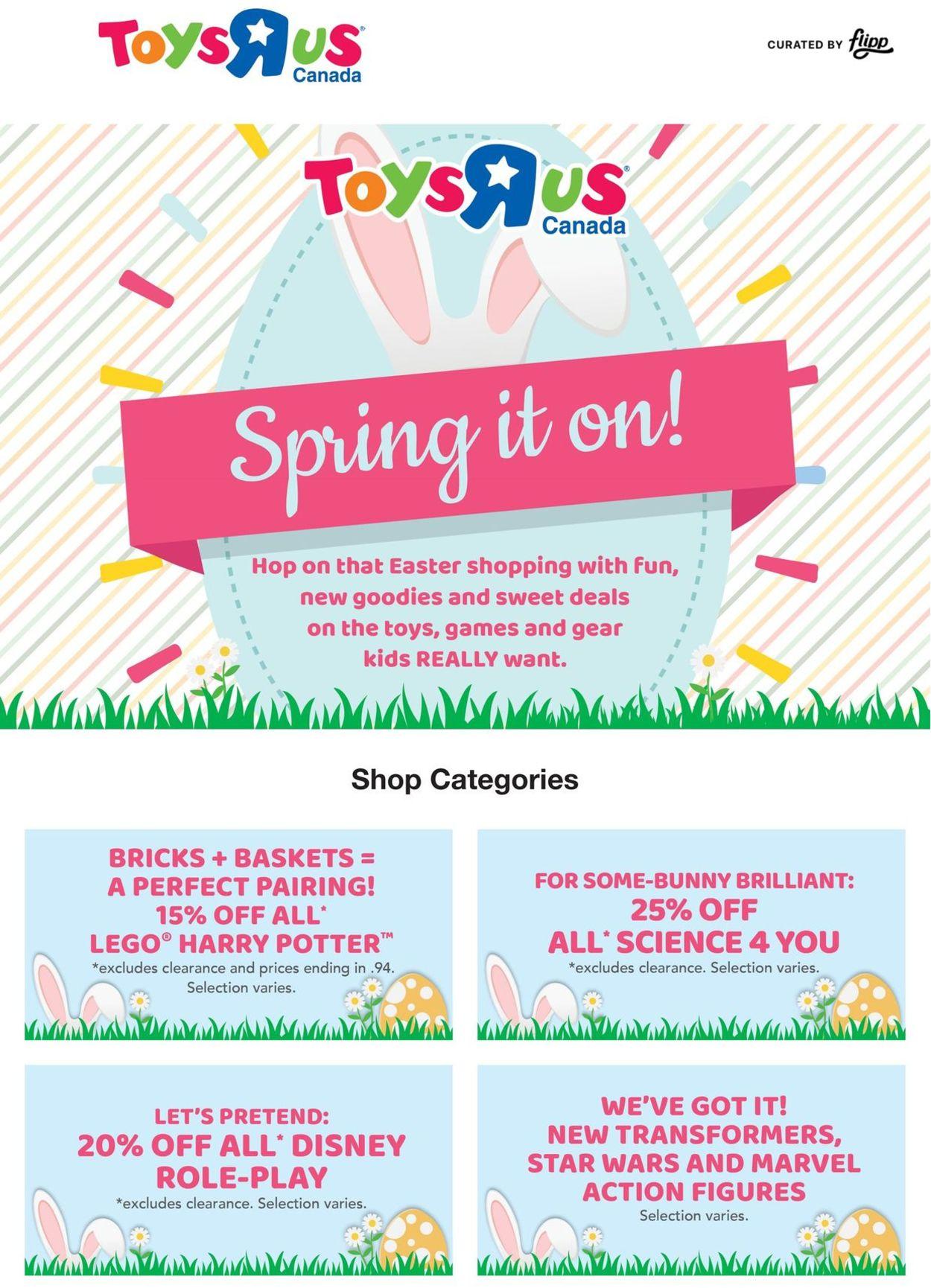 Toys''R''Us Flyer - 03/11-03/17/2021