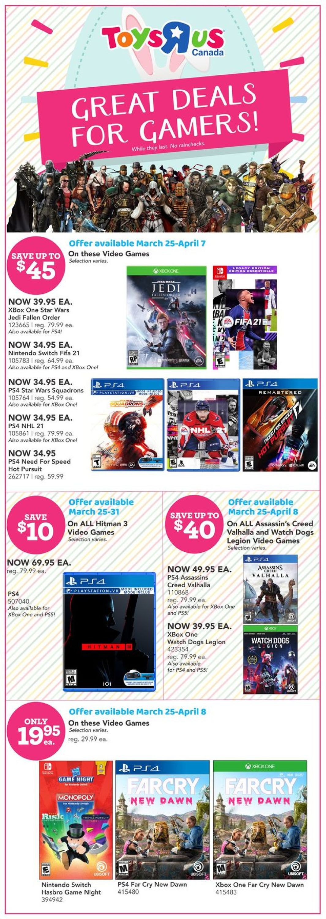 Toys''R''Us Flyer - 03/25-04/05/2021 (Page 8)